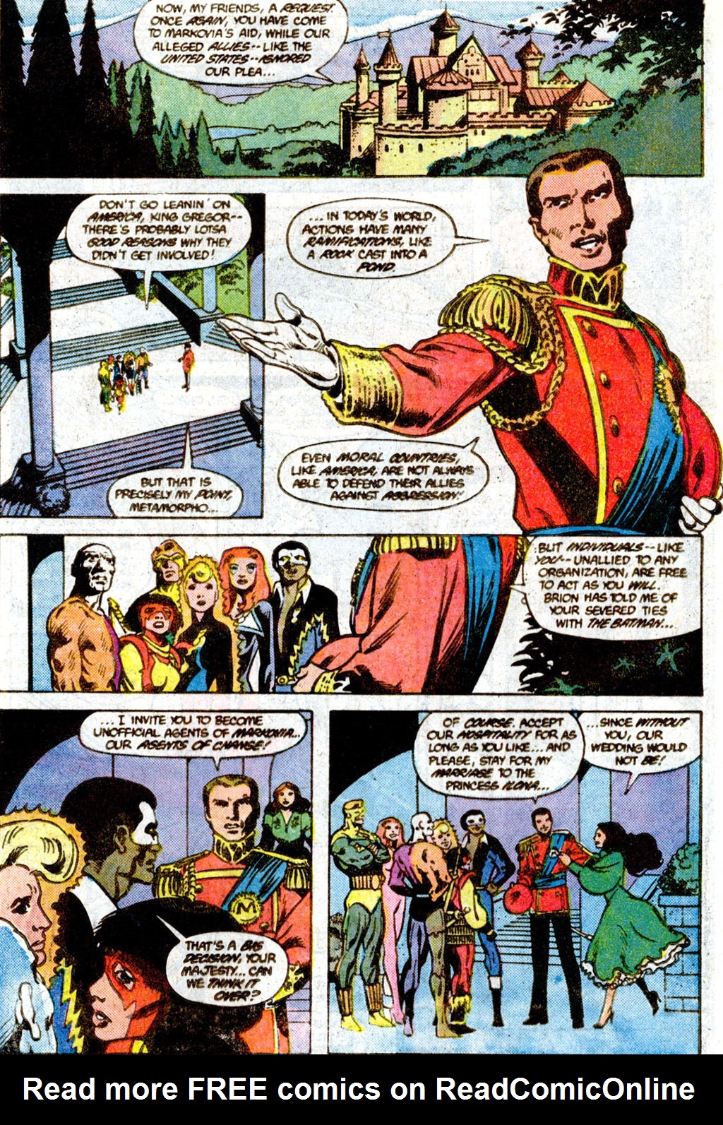 Read online Adventures of the Outsiders comic -  Issue #36 - 7