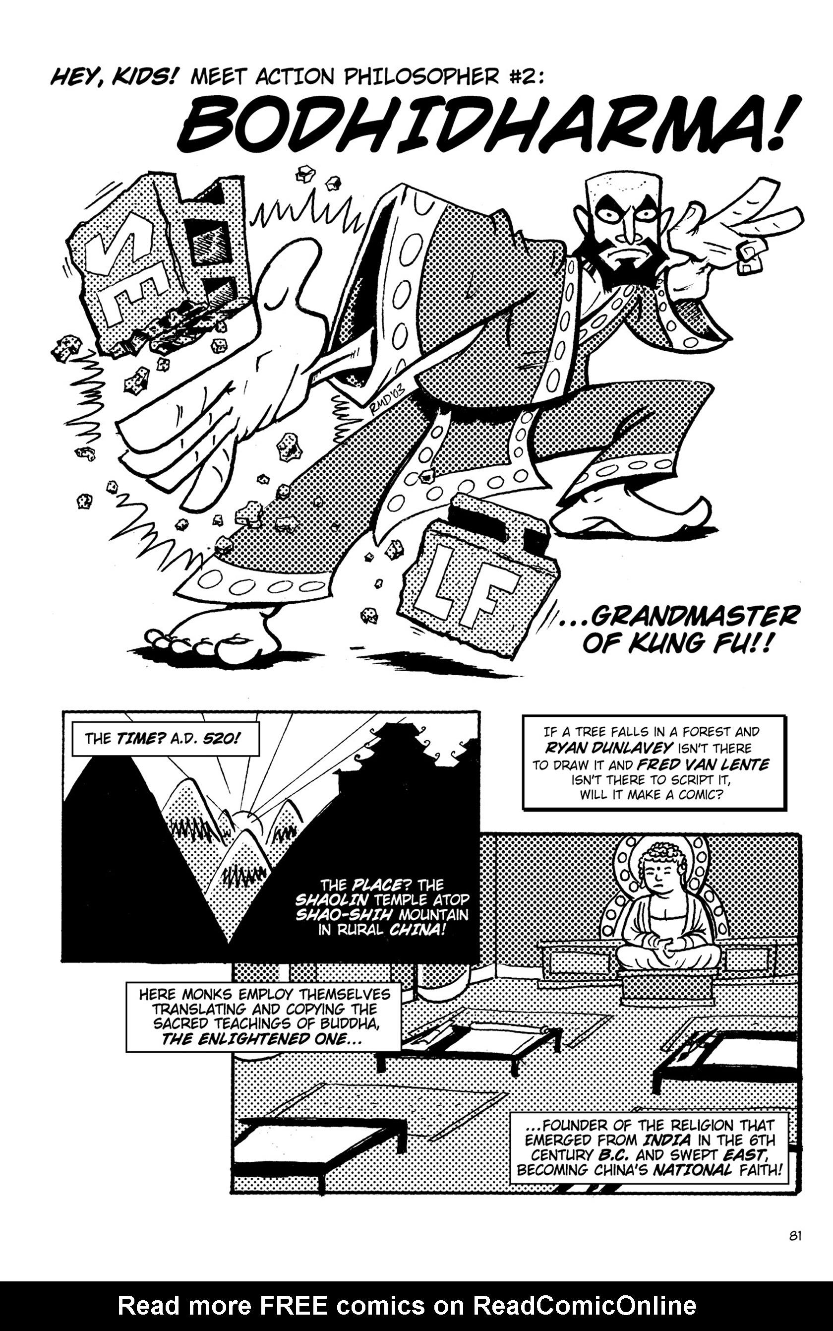 Read online Action Philosophers! comic -  Issue #Action Philosophers! TPB (Part 1) - 81