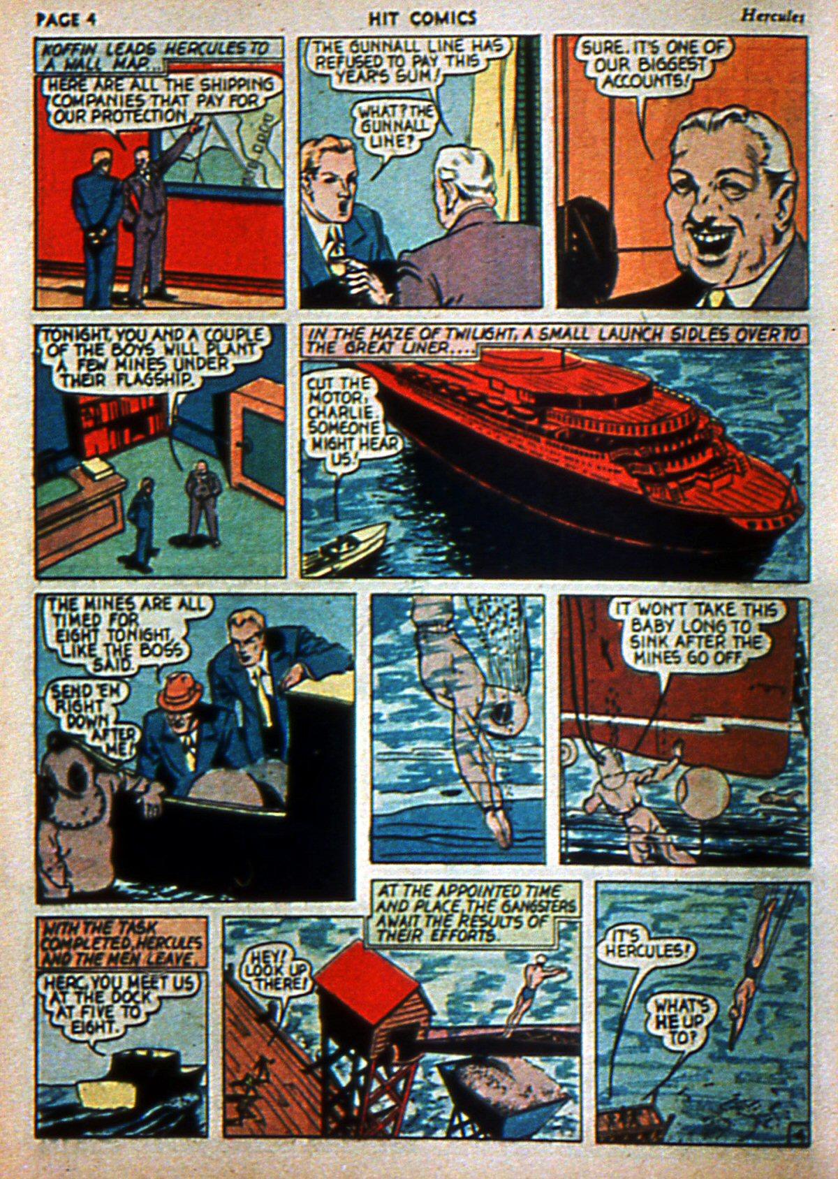 Read online Hit Comics comic -  Issue #3 - 6
