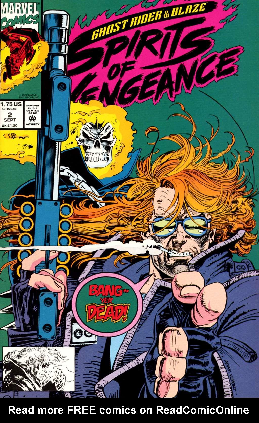 Ghost Rider/Blaze: Spirits of Vengeance 2 Page 1