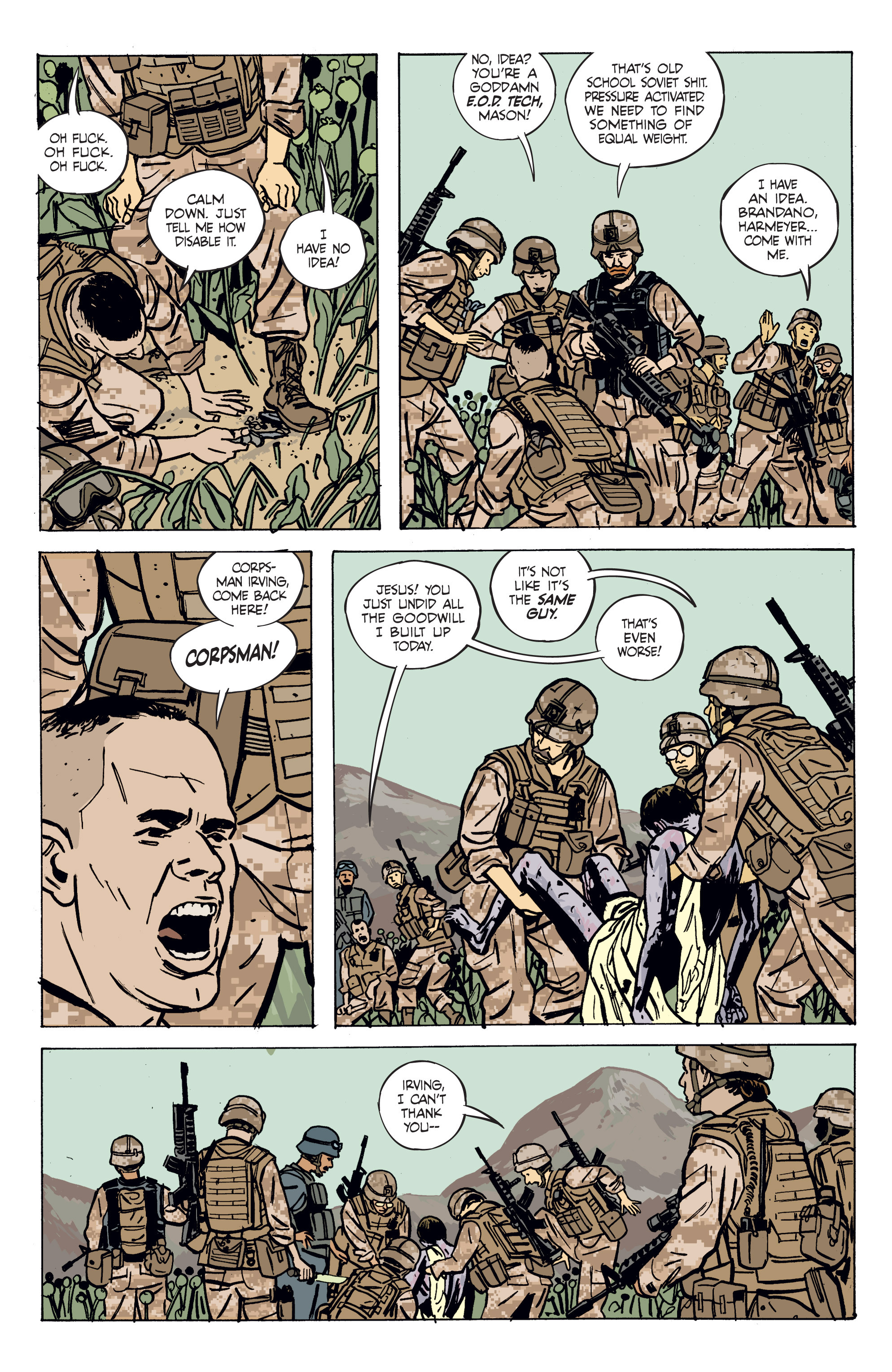 Read online Graveyard of Empires comic -  Issue # TPB - 29