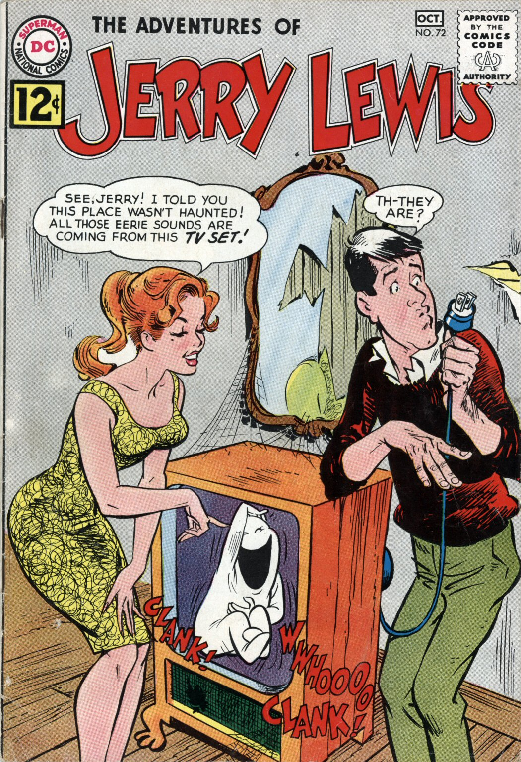The Adventures of Jerry Lewis 72 Page 1