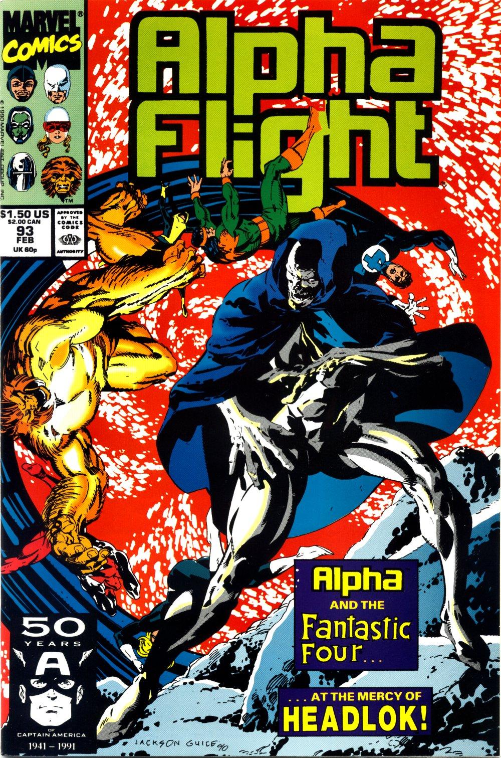 Read online Alpha Flight (1983) comic -  Issue #93 - 1