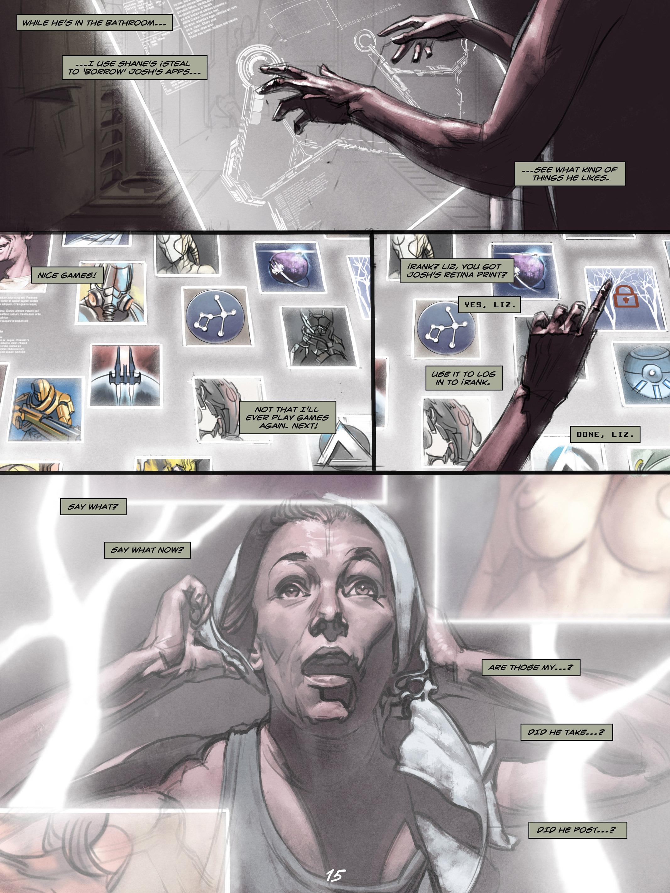 Read online Wynter comic -  Issue #4 - 16