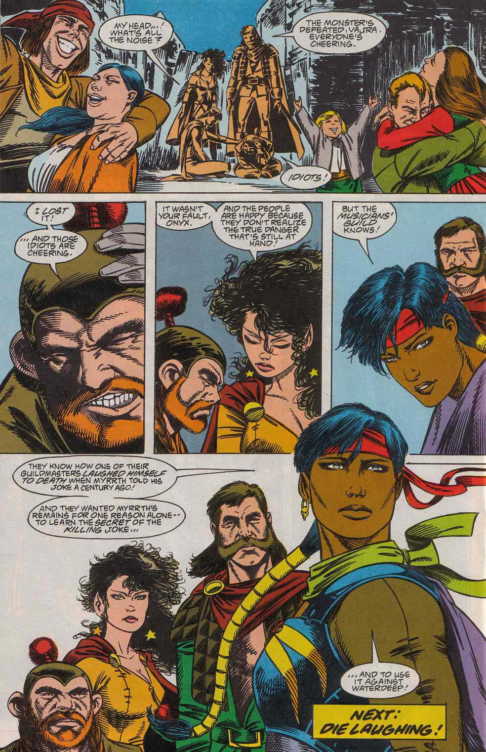 Read online Advanced Dungeons & Dragons comic -  Issue #7 - 25