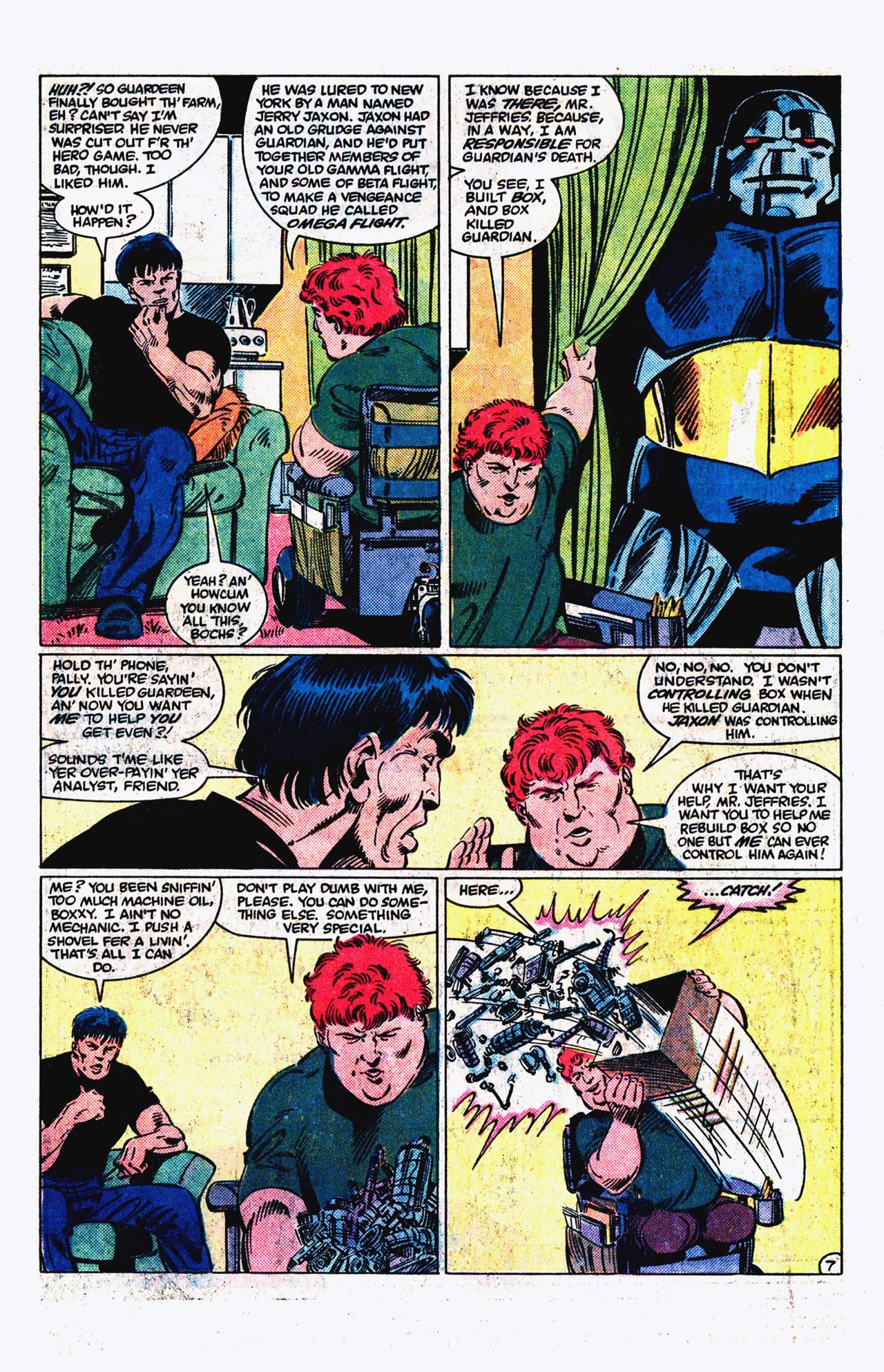Read online Alpha Flight (1983) comic -  Issue #16 - 8