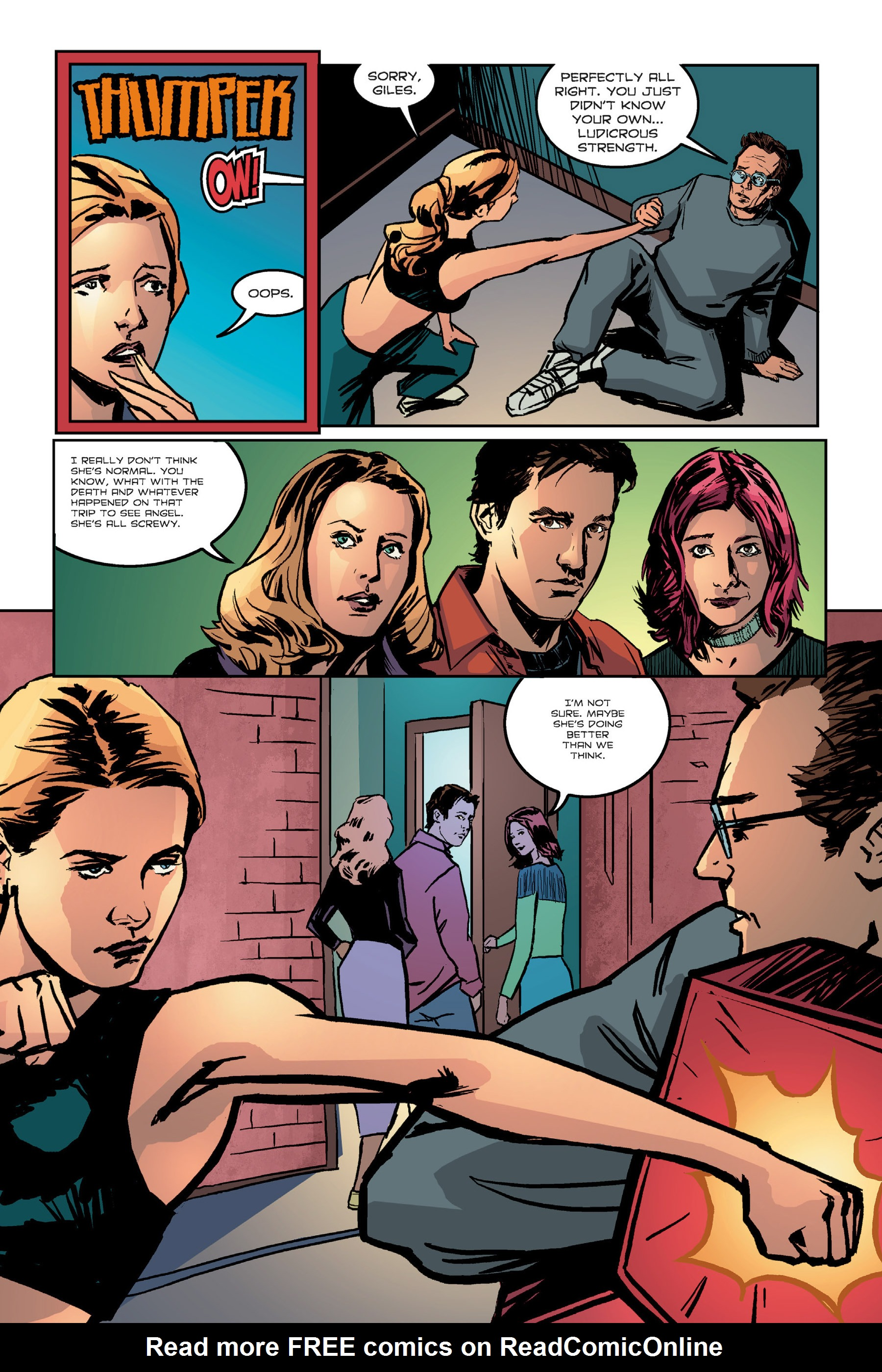 Read online Buffy the Vampire Slayer: Omnibus comic -  Issue # TPB 7 - 261