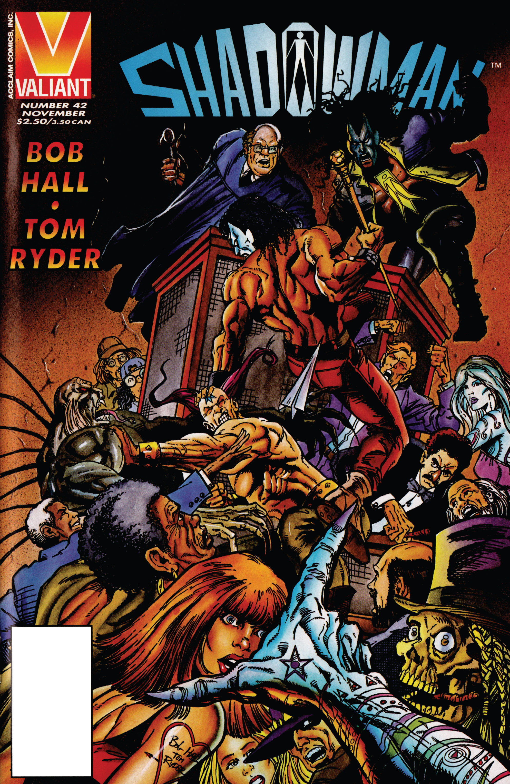 Read online Shadowman (1992) comic -  Issue #42 - 1