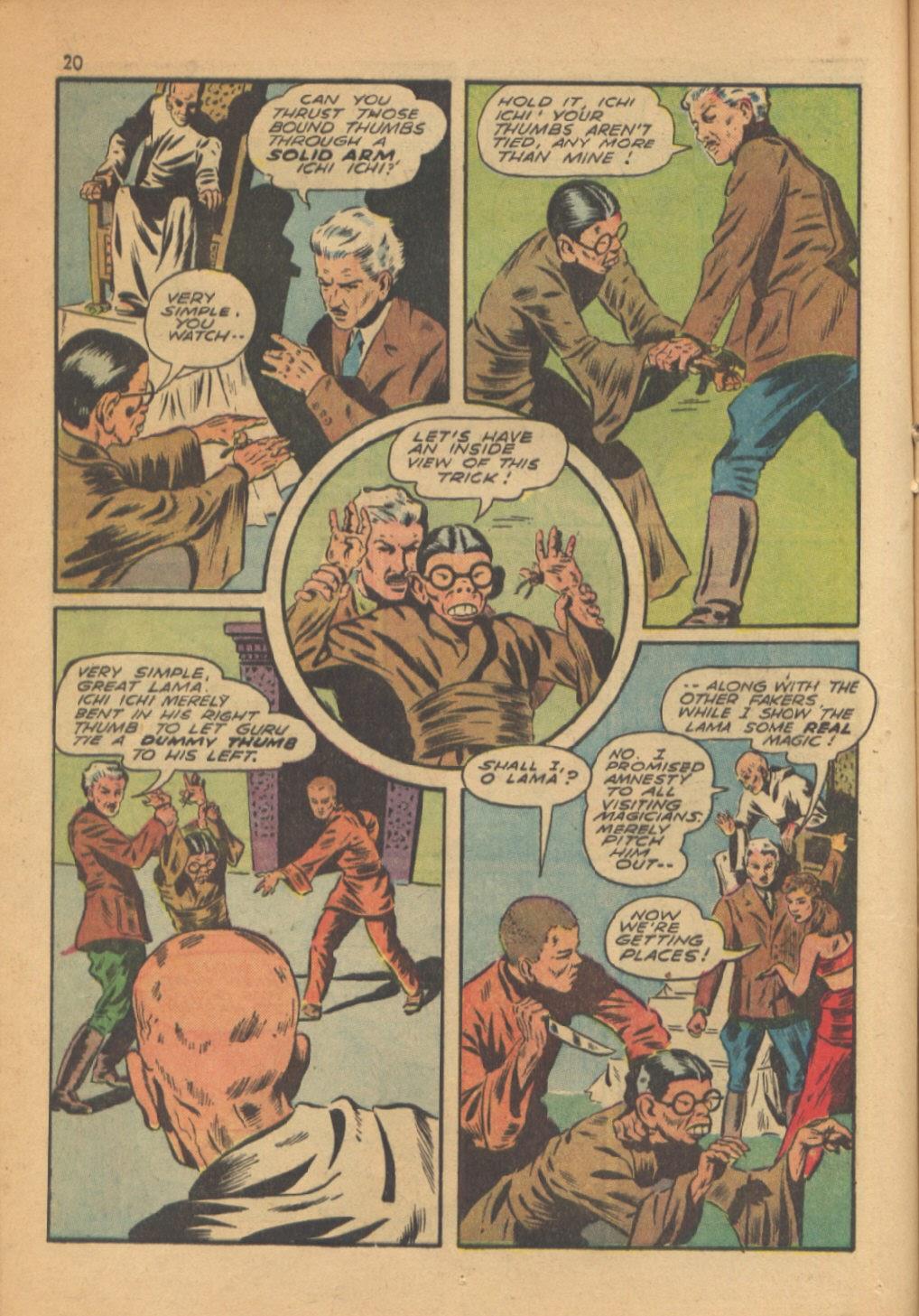 Read online Super-Magician Comics comic -  Issue #13 - 20