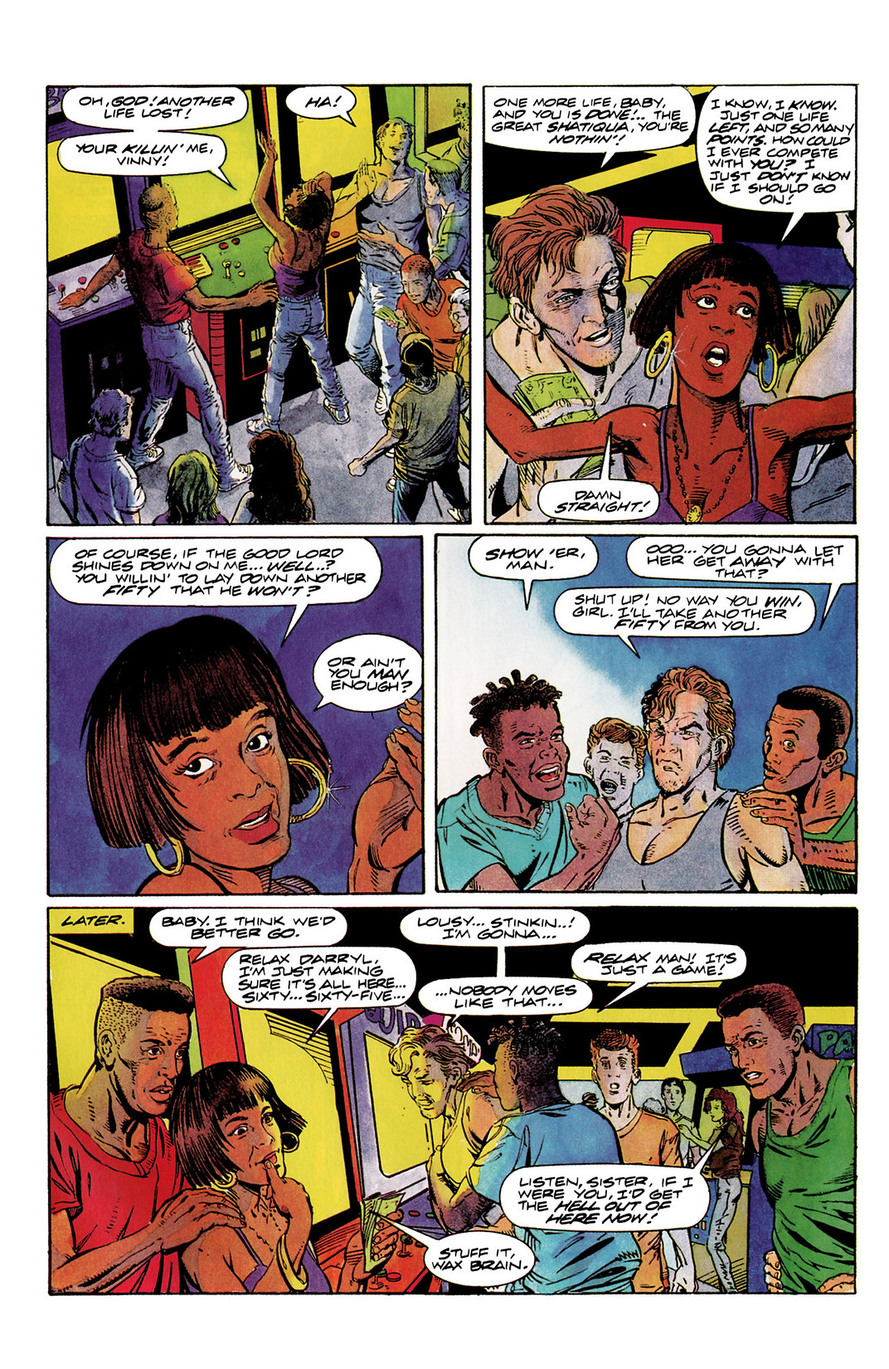 Read online Harbinger (1992) comic -  Issue #10 - 15