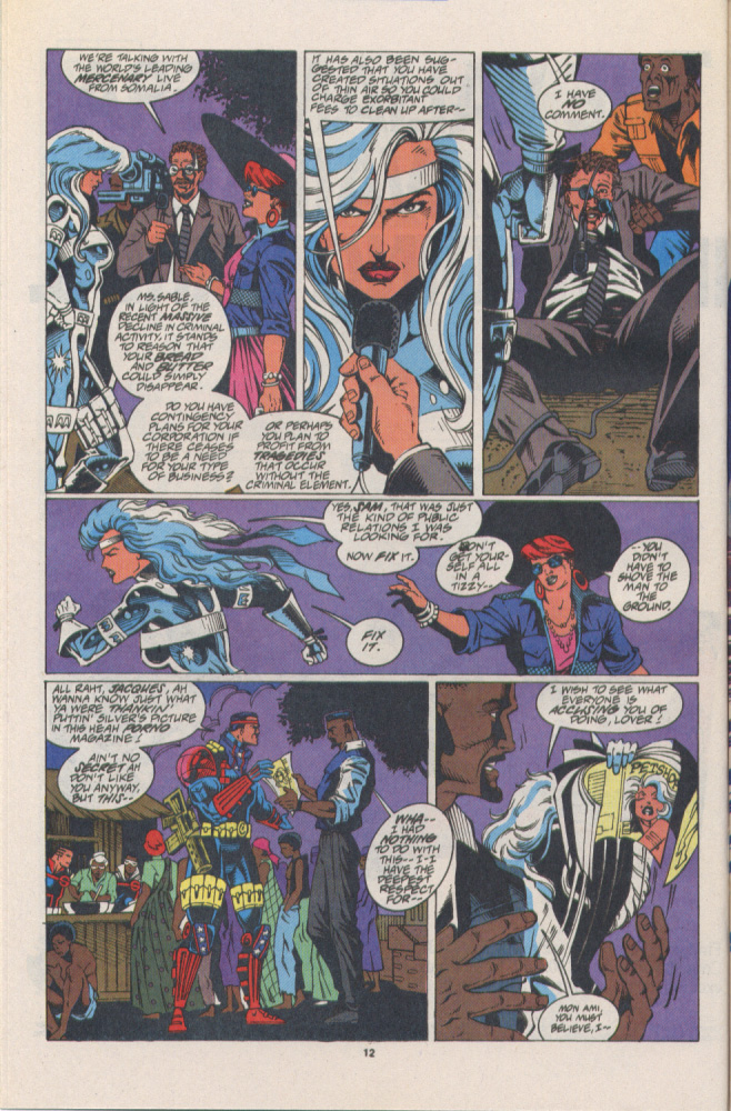 Read online Silver Sable and the Wild Pack comic -  Issue #16 - 10