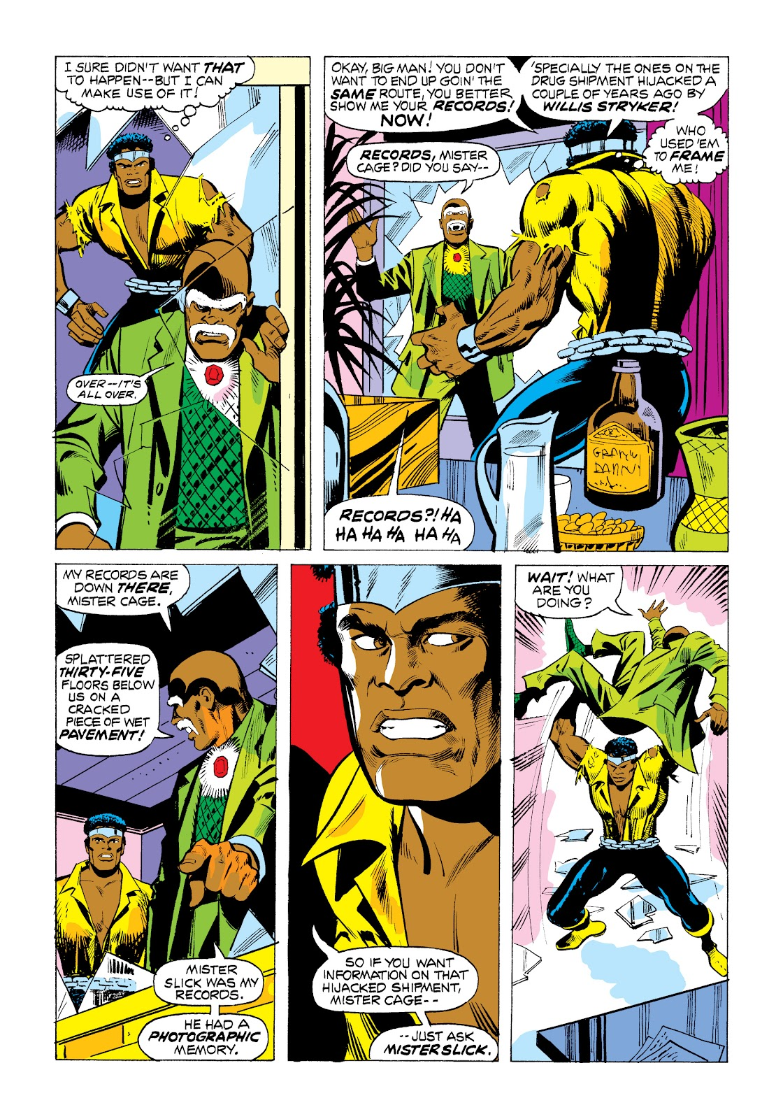 Read online Marvel Masterworks: Luke Cage, Power Man comic -  Issue # TPB 2 (Part 1) - 85