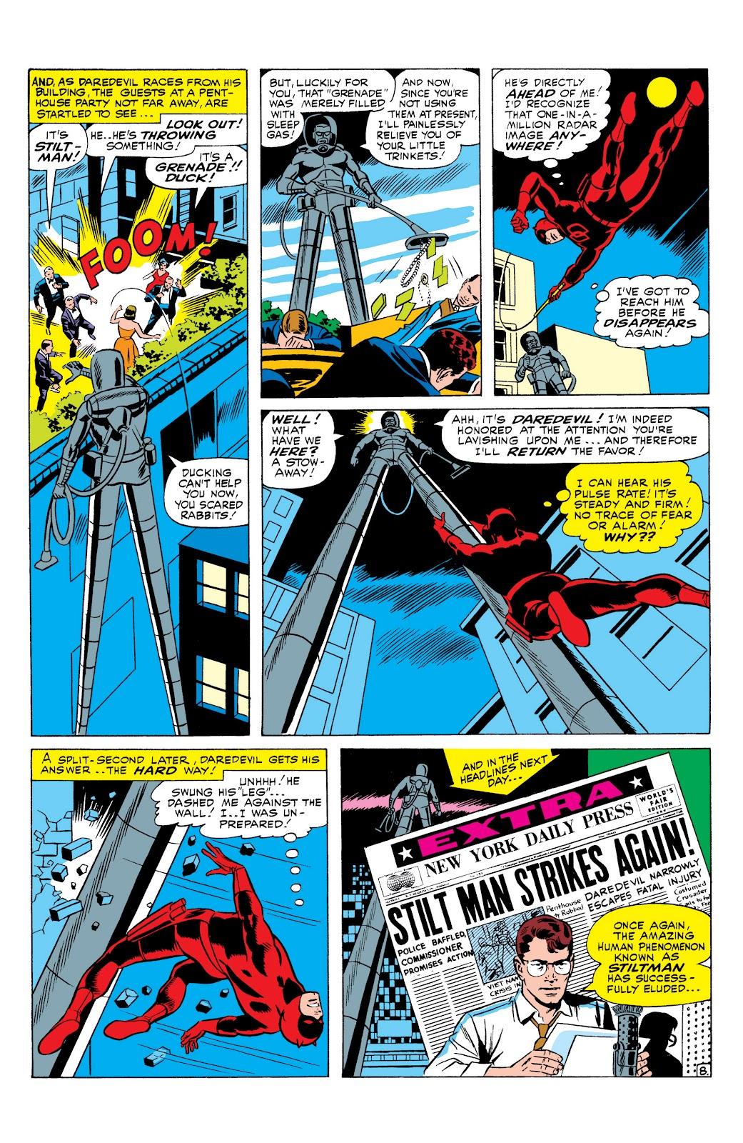 Read online Marvel Masterworks: Daredevil comic - Issue # TPB 1 (Part 2) - 72