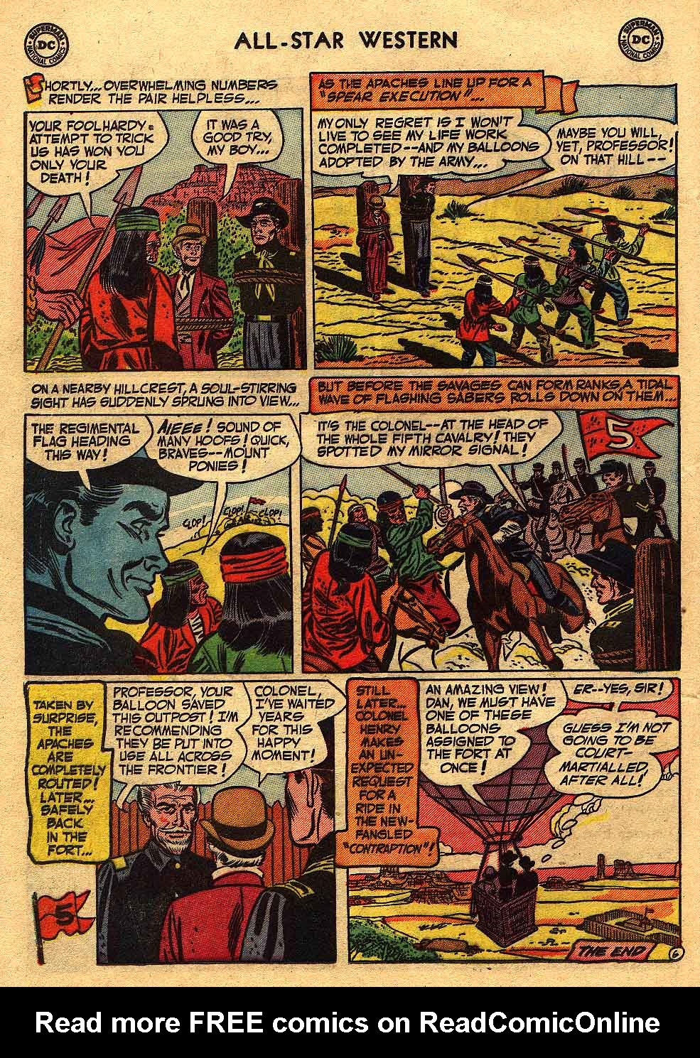 Read online All-Star Western (1951) comic -  Issue #70 - 24