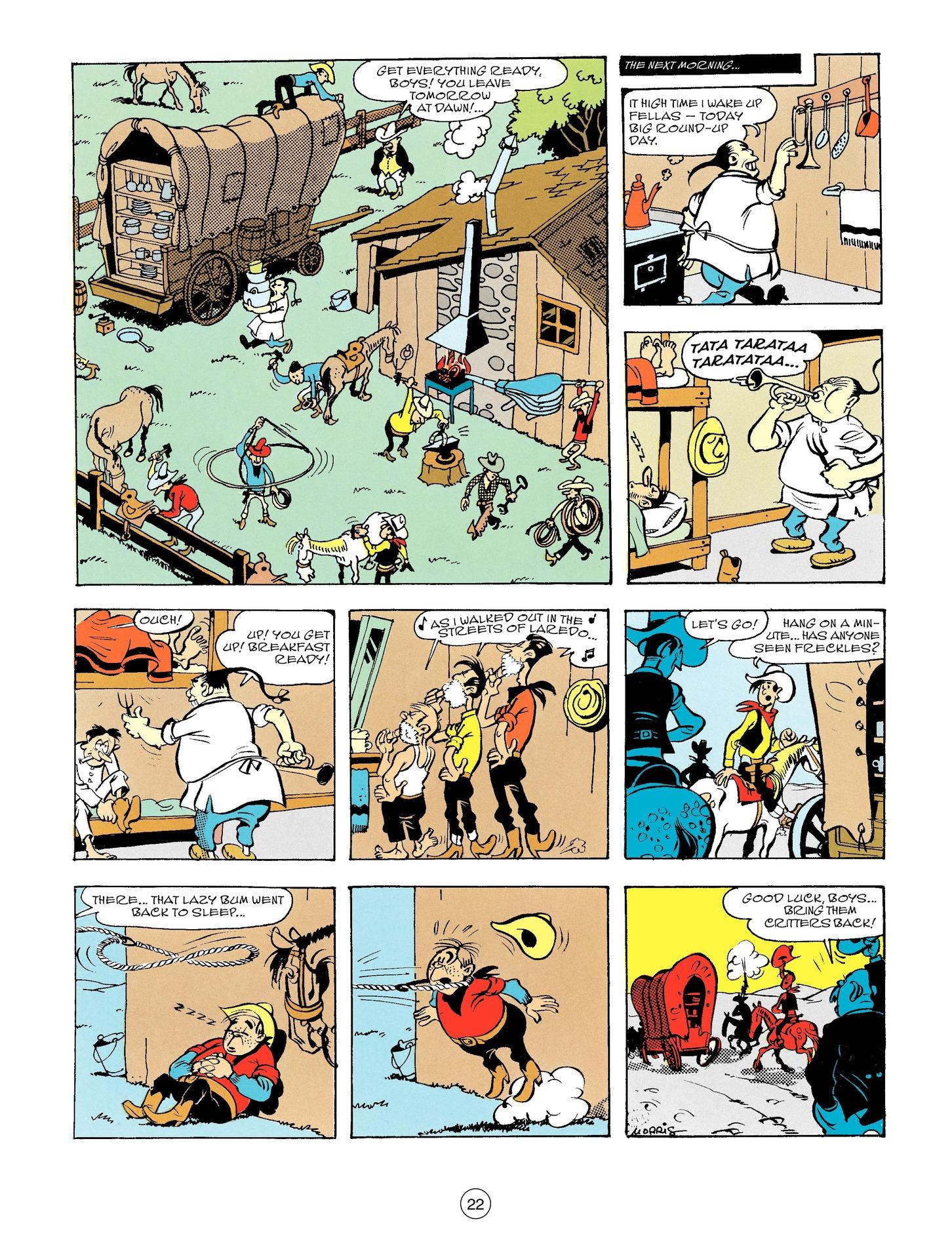 Read online A Lucky Luke Adventure comic -  Issue #56 - 22