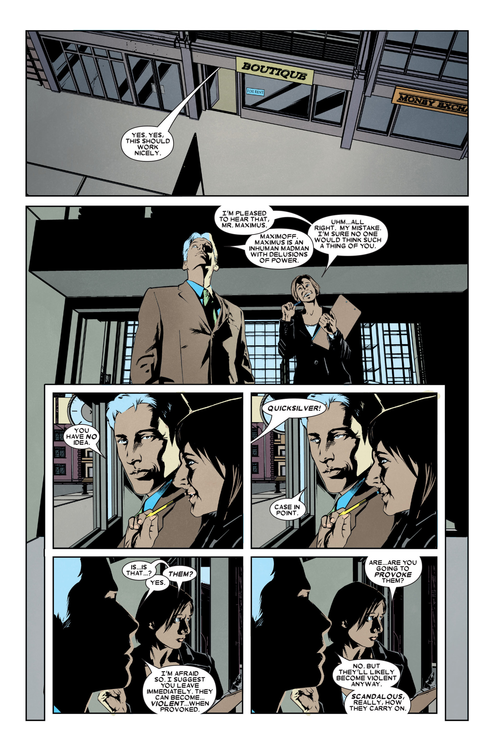 Read online X-Factor (2006) comic -  Issue #9 - 16