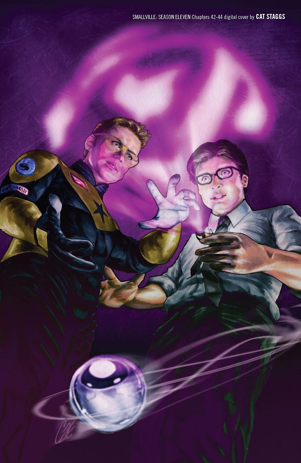 Read online Smallville Season 11 [II] comic -  Issue # TPB 4 - 143