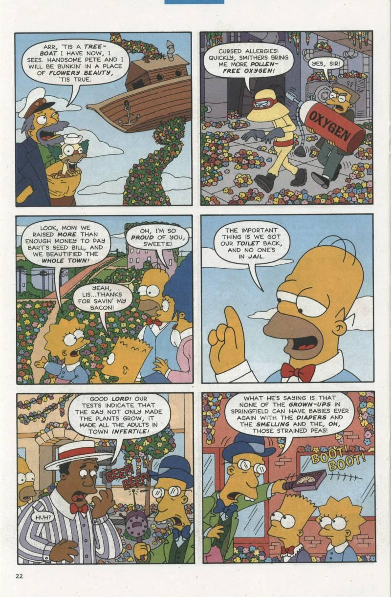 Read online Simpsons Comics comic -  Issue #67 - 23