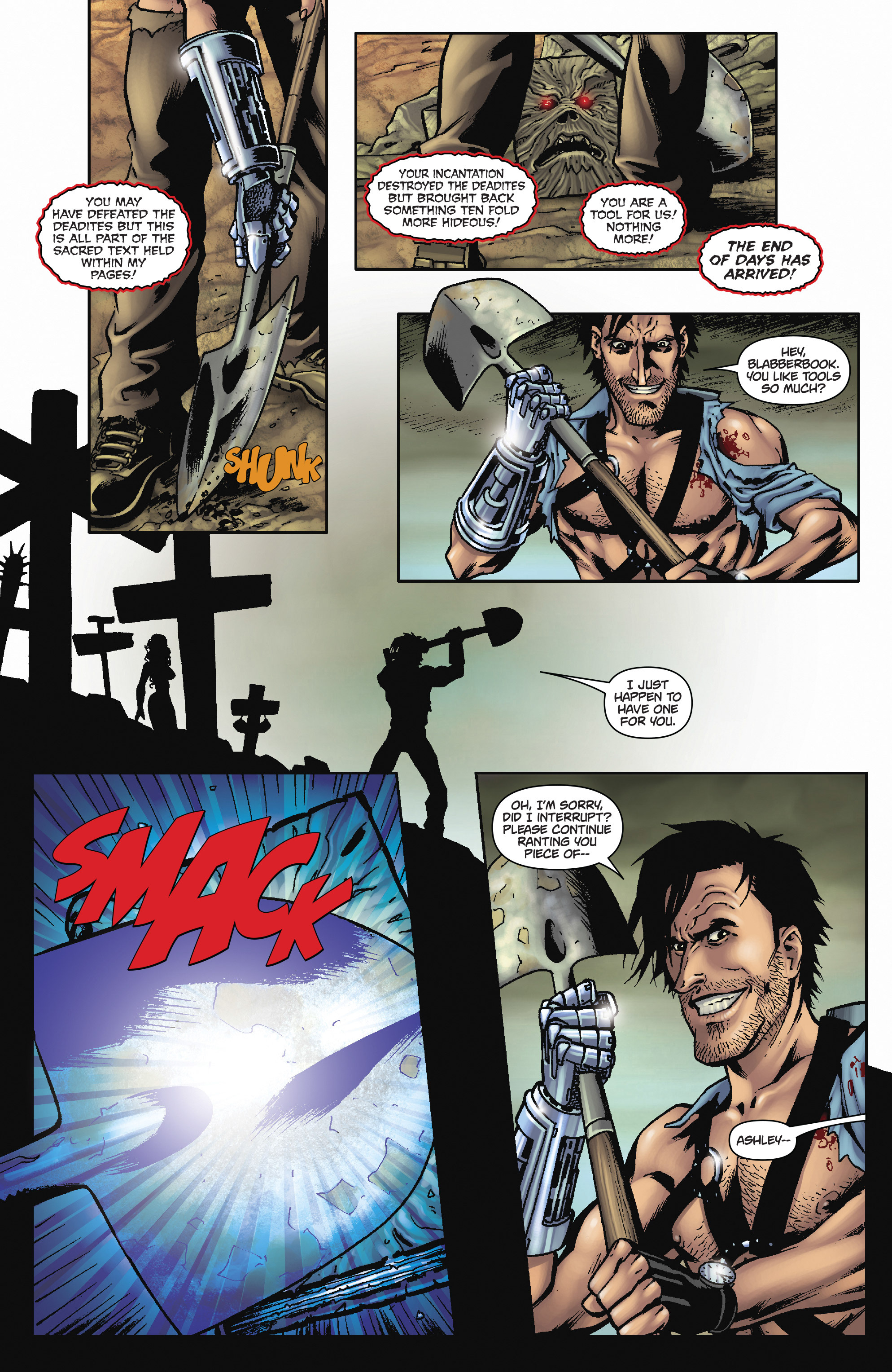 Read online Army of Darkness: The Long Road Home comic -  Issue #Army of Darkness: The Long Road Home TPB - 23