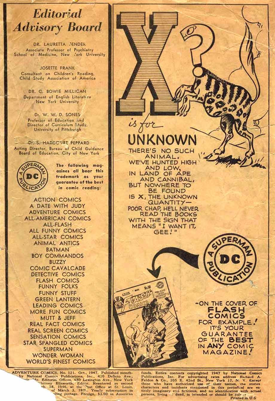 Read online Adventure Comics (1938) comic -  Issue #121 - 2
