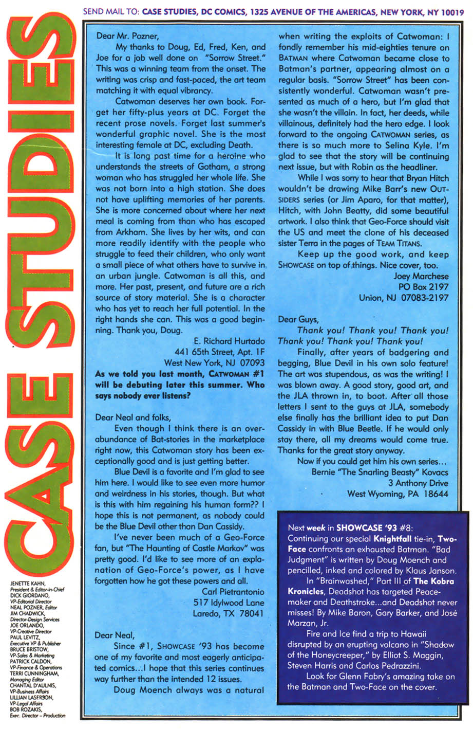 Read online Showcase '93 comic -  Issue #7 - 41