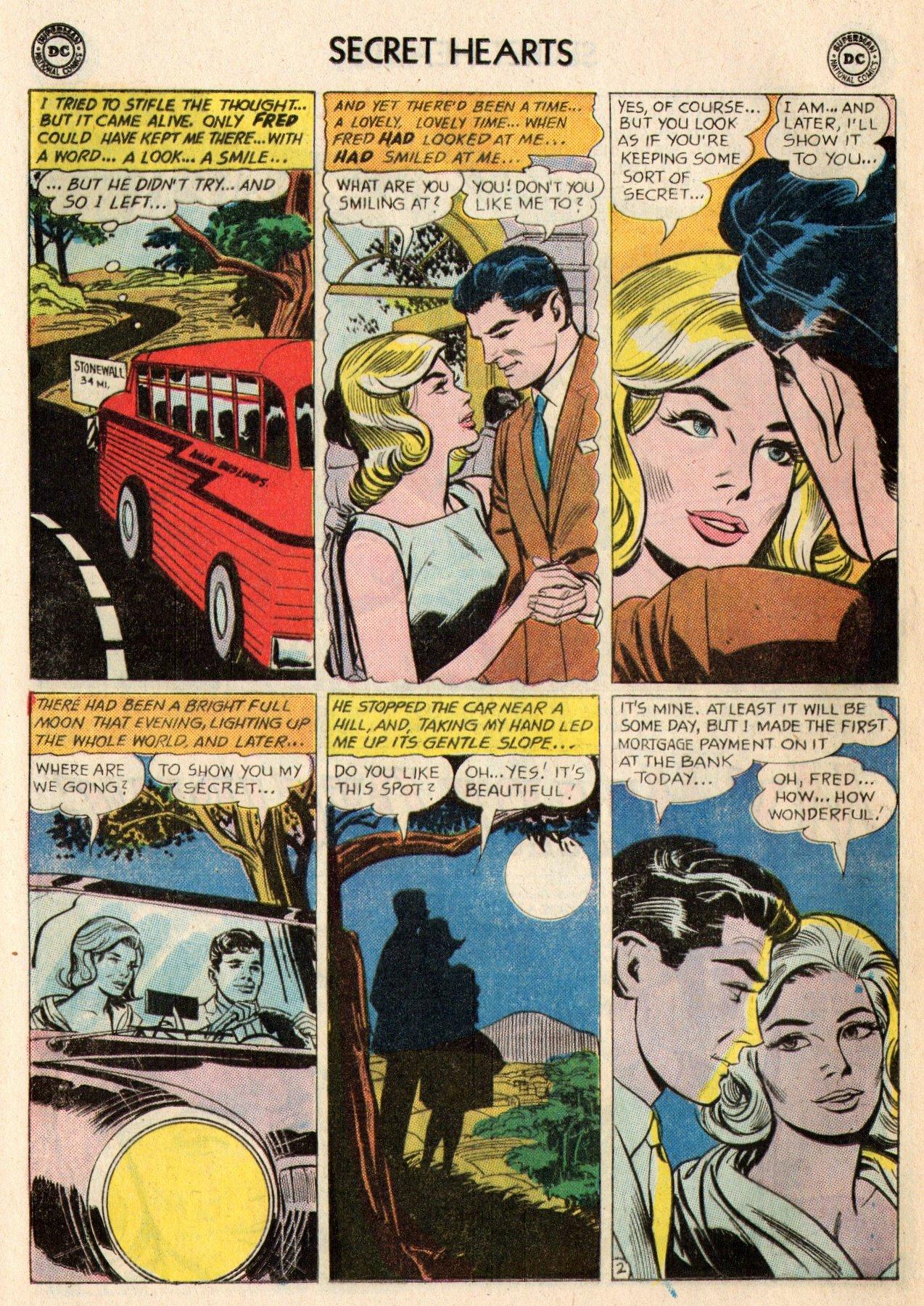 Read online Secret Hearts comic -  Issue #95 - 12