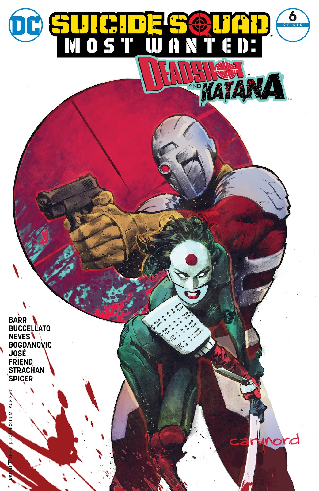 Comic Suicide Squad Most Wanted: Deadshot and Katana issue 6