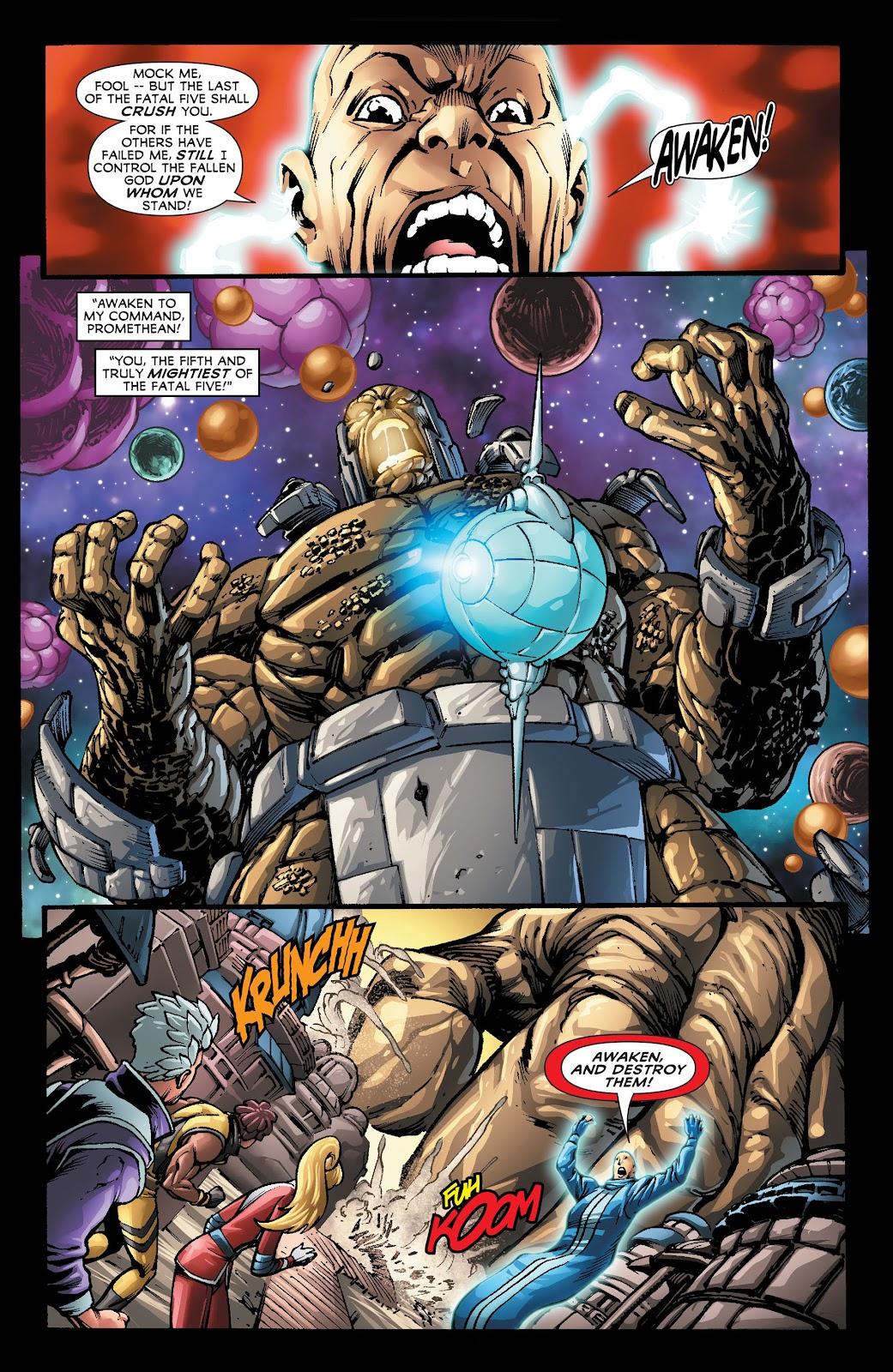 Legion of Super-Heroes (2011) Issue #22 #23 - English 14