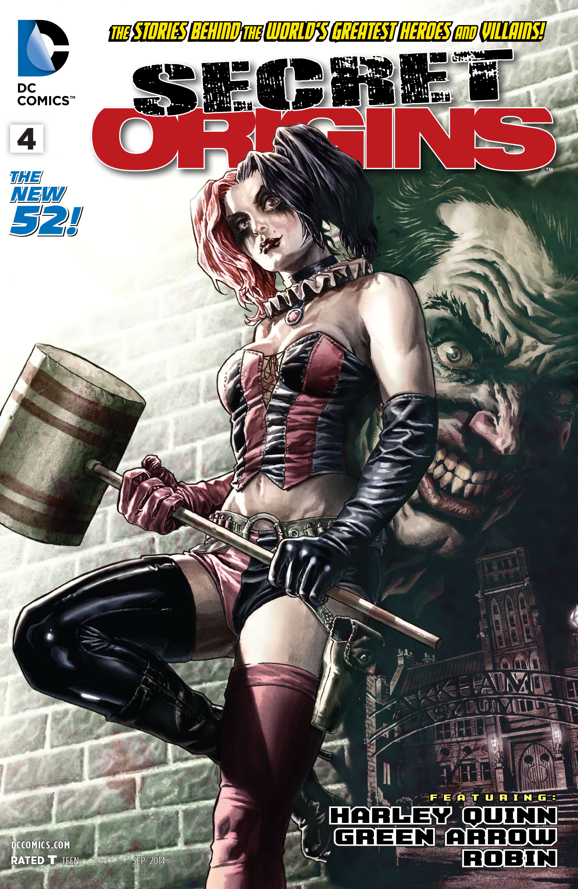 Read online Secret Origins (2014) comic -  Issue #4 - 1