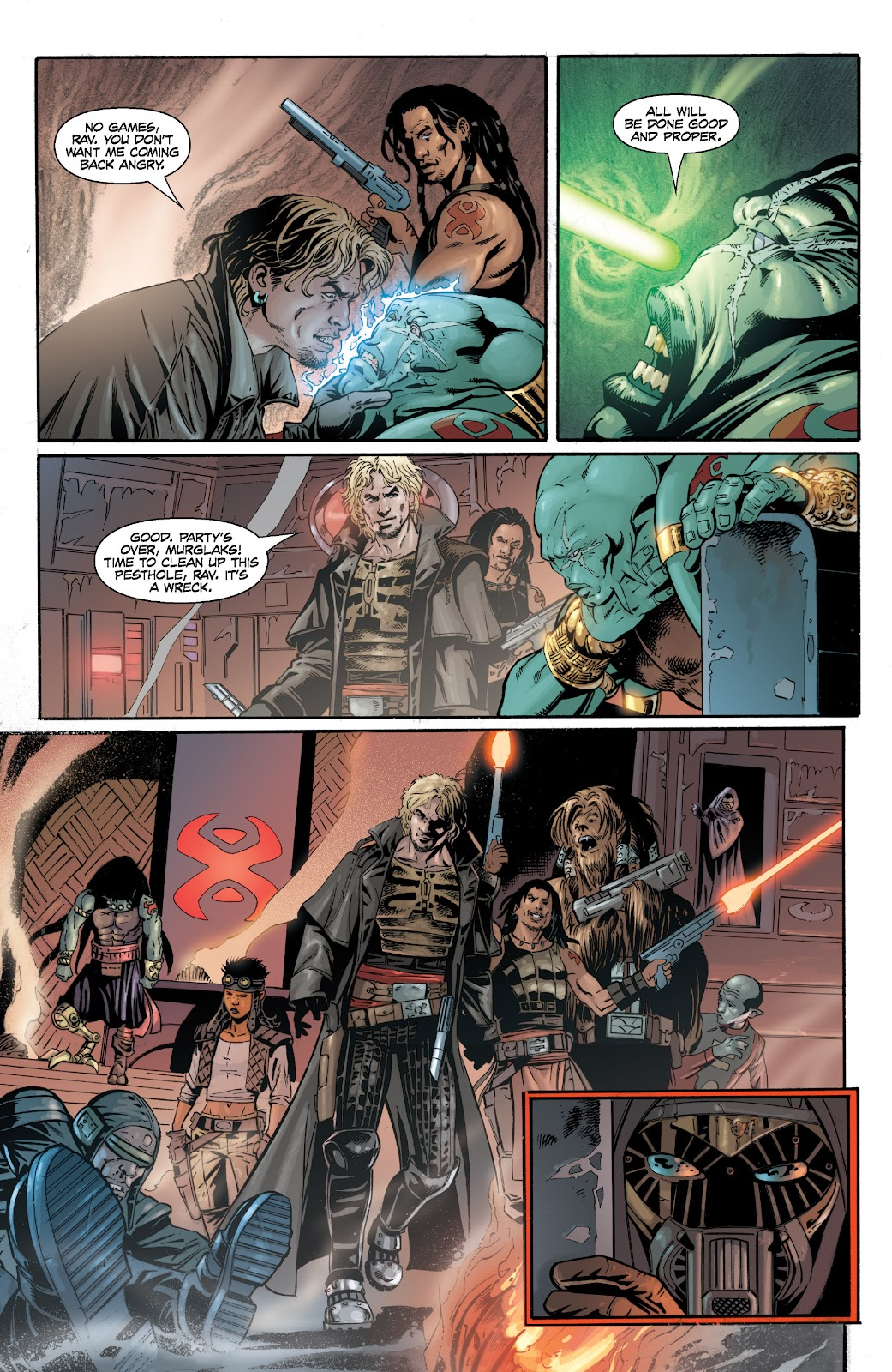 Read online Star Wars Legends: Legacy - Epic Collection comic -  Issue # TPB 2 (Part 2) - 9