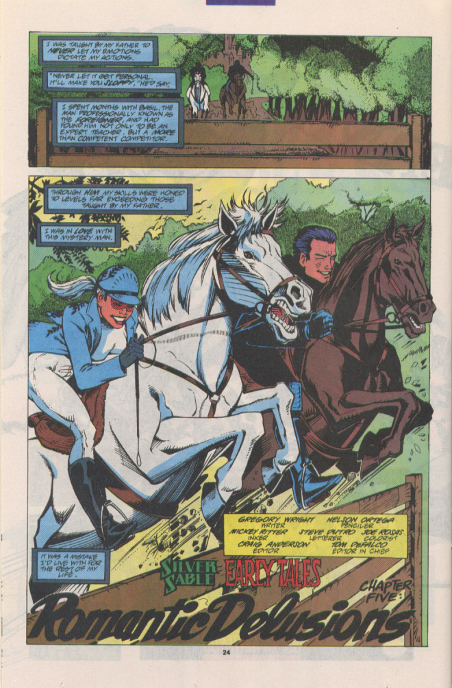 Read online Silver Sable and the Wild Pack comic -  Issue #15 - 19