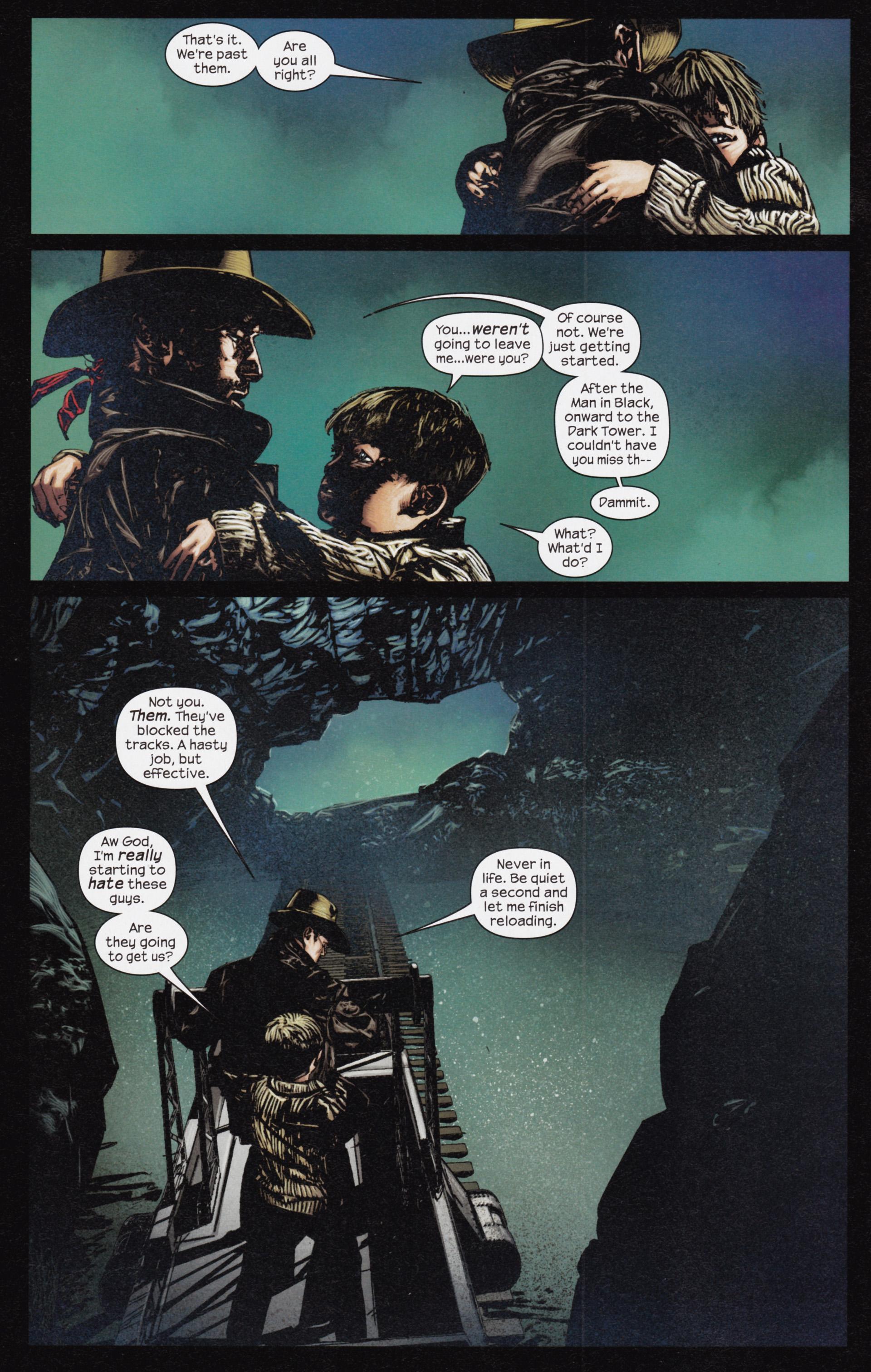 Read online Dark Tower: The Gunslinger - The Man in Black comic -  Issue #3 - 9