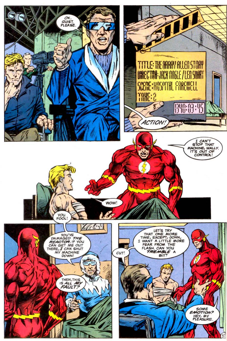 Read online The Flash (1987) comic -  Issue # _Annual 7 - 38