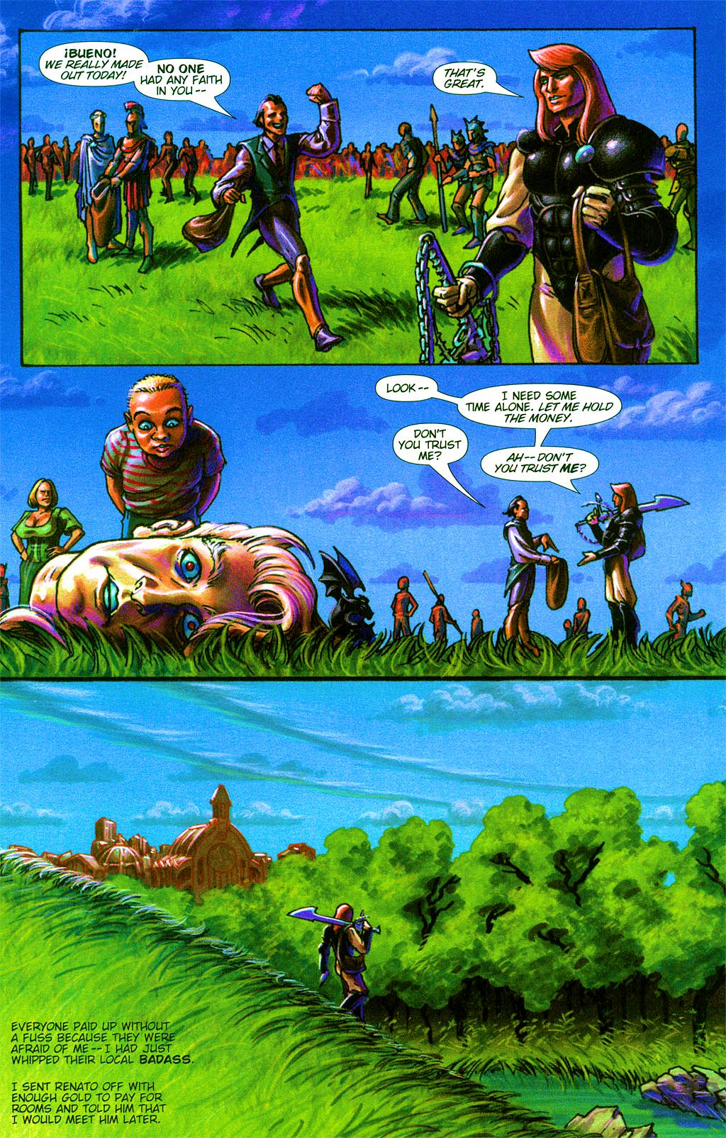 Read online Dawn: Three Tiers comic -  Issue #2 - 10