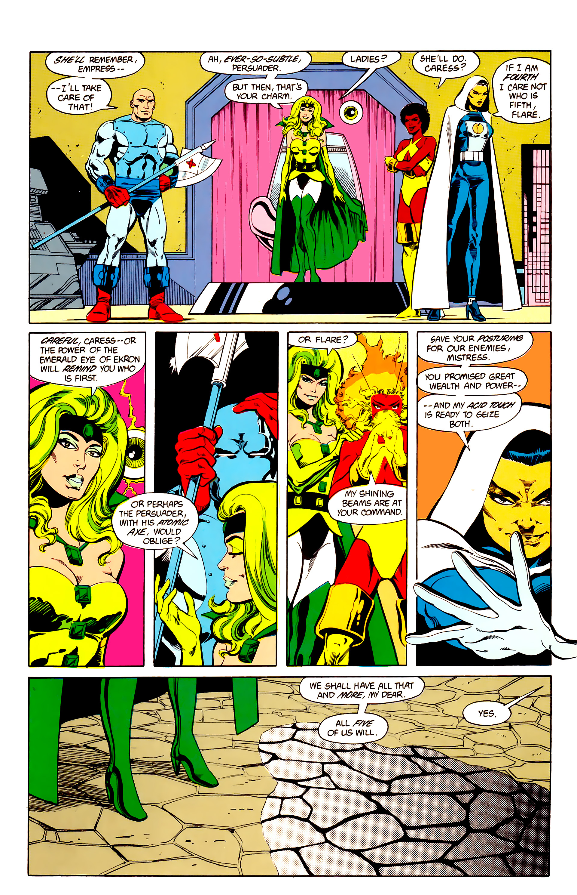 Legion of Super-Heroes (1984) 25 Page 3