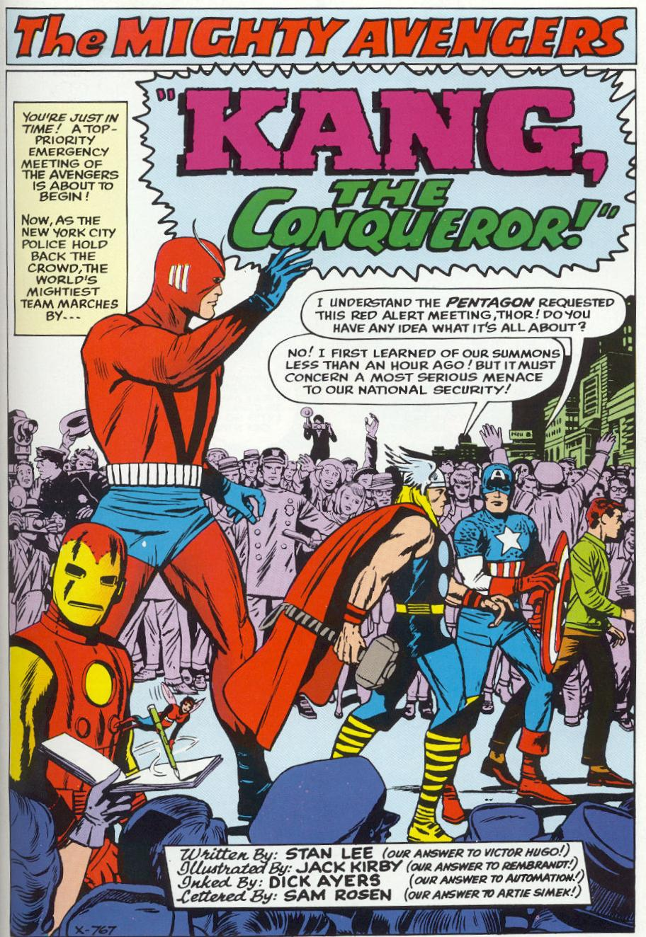 The Avengers (1963) 8 Page 1