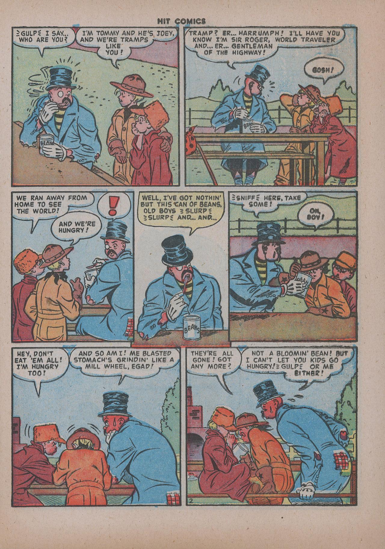Read online Hit Comics comic -  Issue #62 - 18