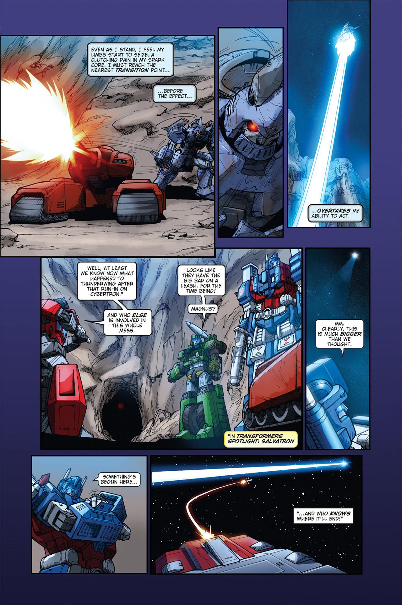 Read online Transformers Spotlight: Cyclonus comic -  Issue # Full - 25