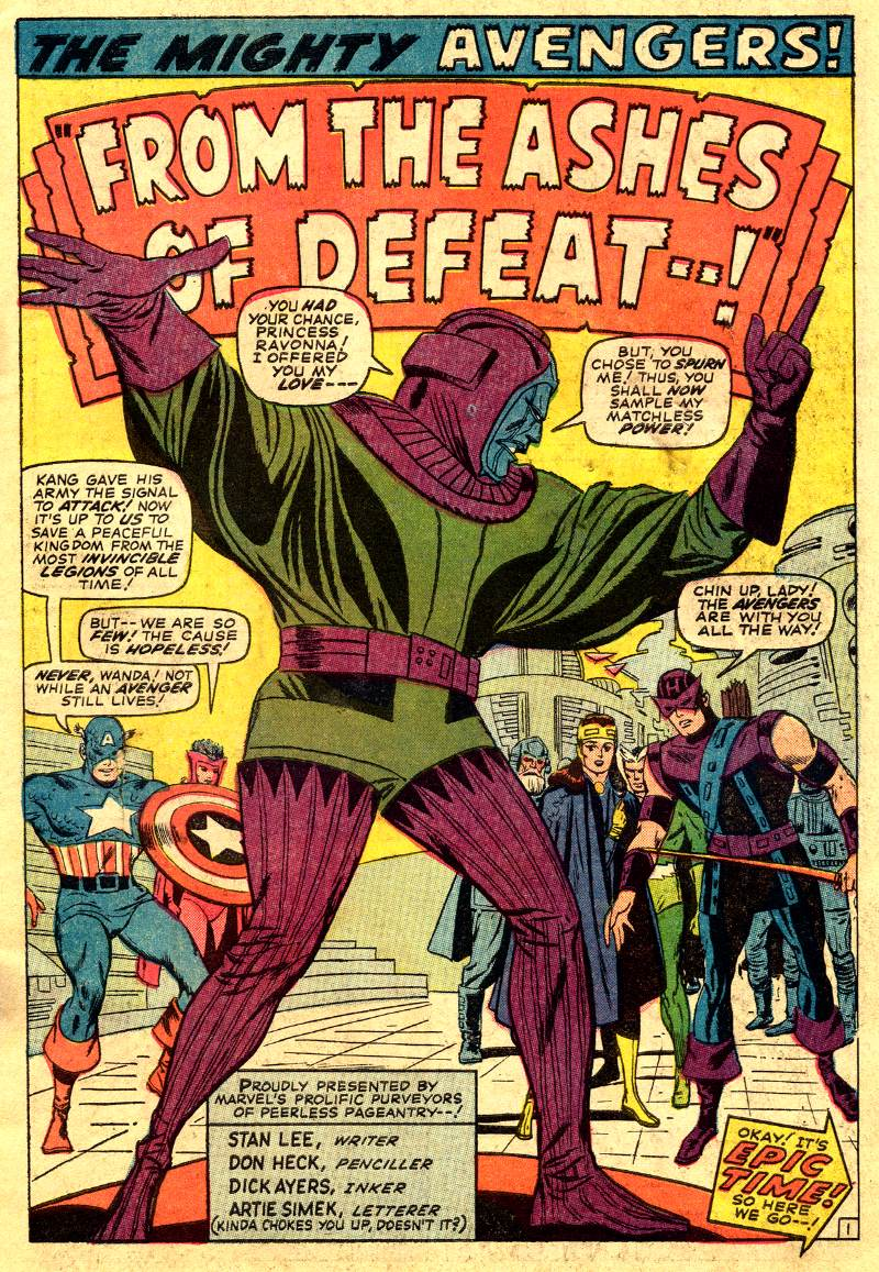 The Avengers (1963) 24 Page 1