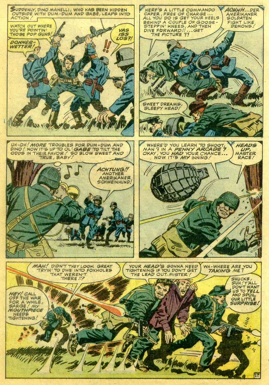 Read online Sgt. Fury comic -  Issue # _Annual 1 - 40