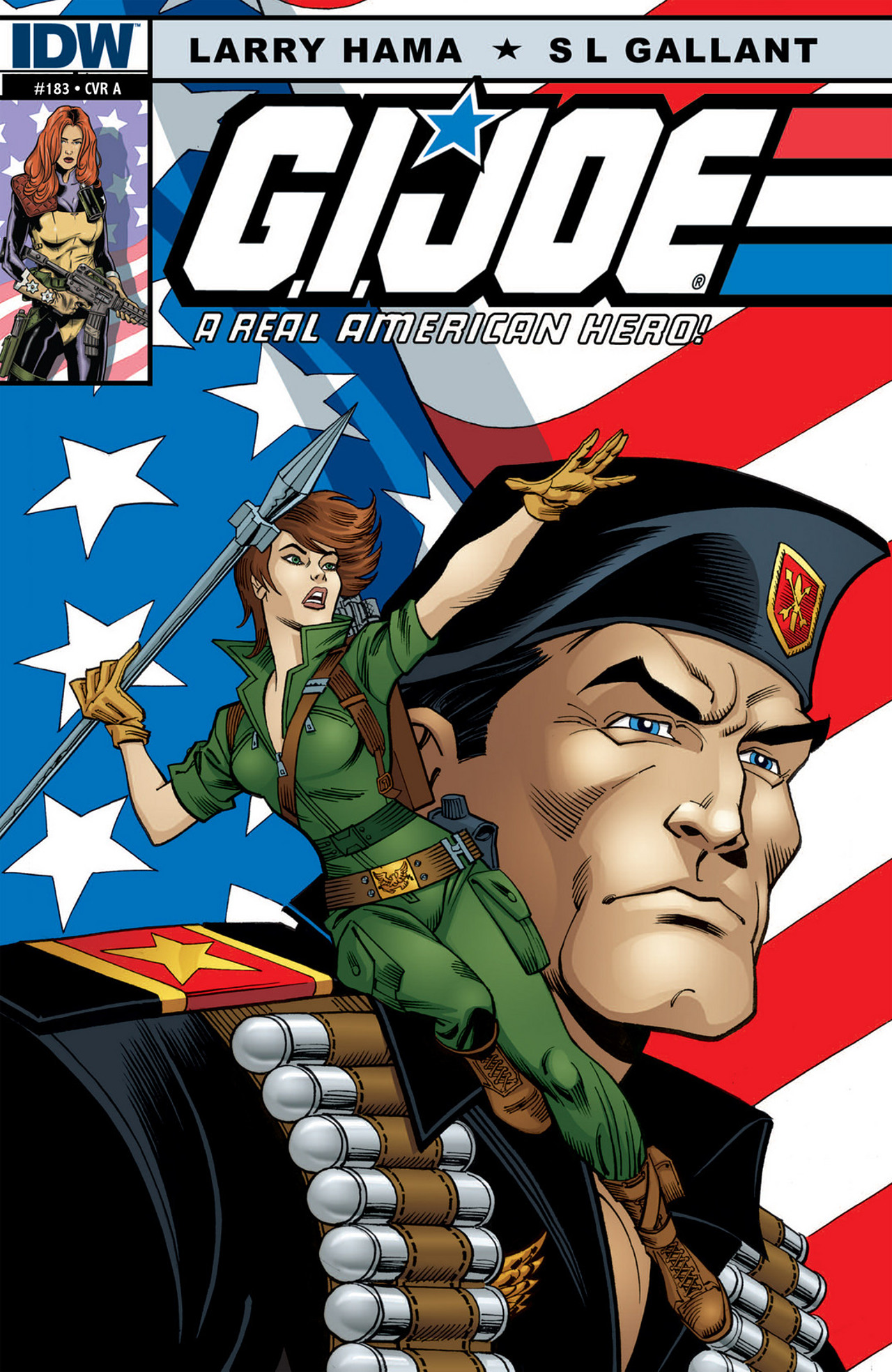 G.I. Joe: A Real American Hero 183 Page 0