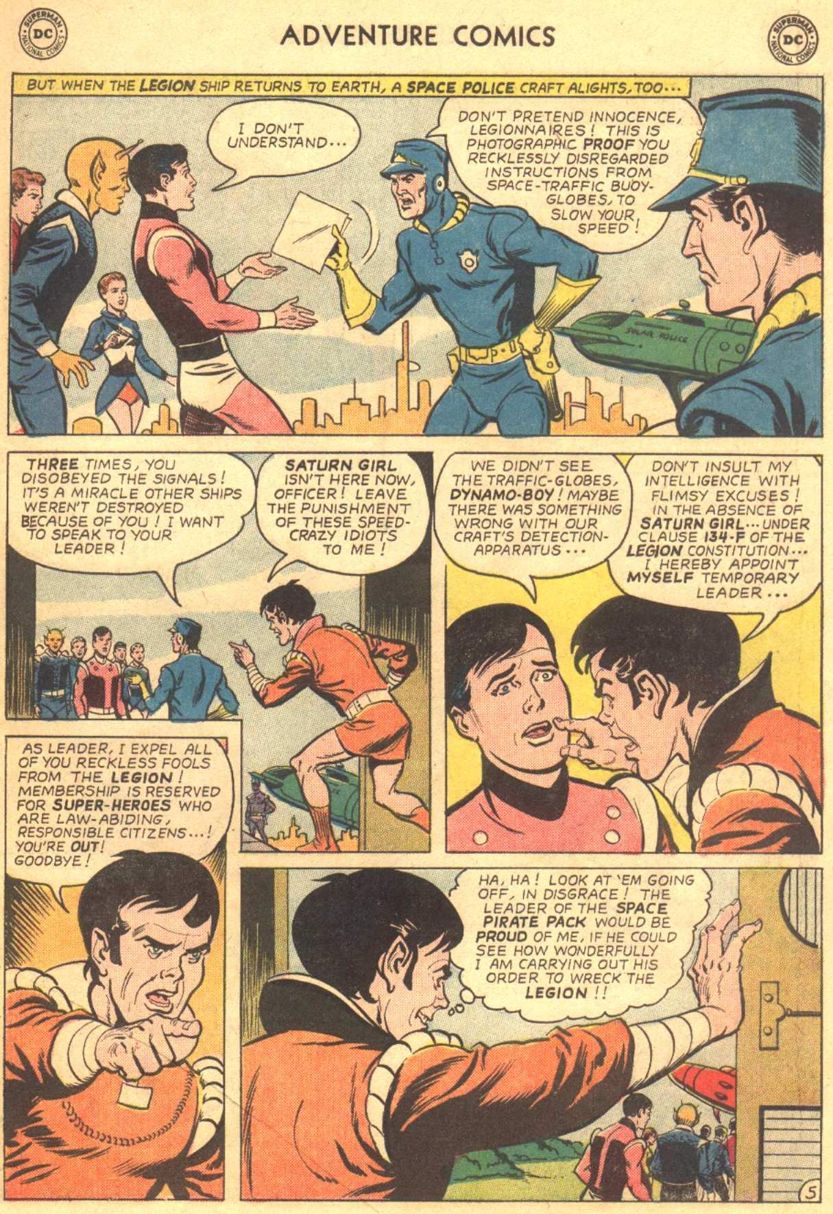 Read online Adventure Comics (1938) comic -  Issue #330 - 17