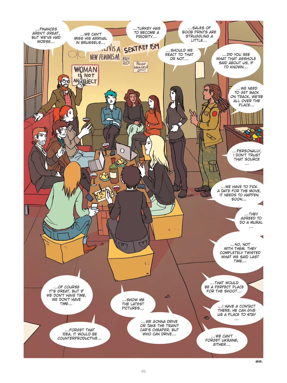 Read online Diary of A Femen comic -  Issue # TPB - 97