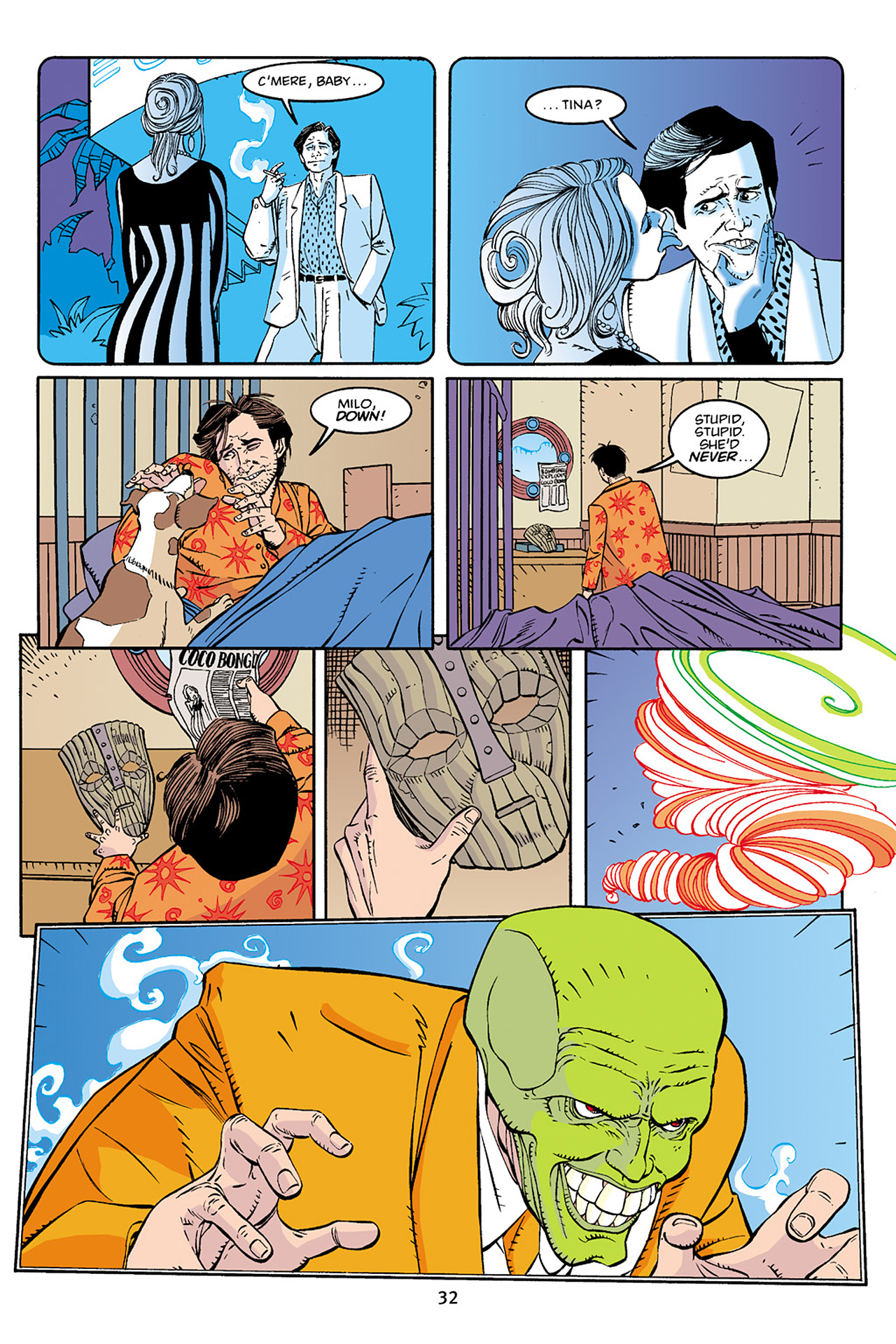 Read online Adventures Of The Mask Omnibus comic -  Issue #Adventures Of The Mask Omnibus Full - 32