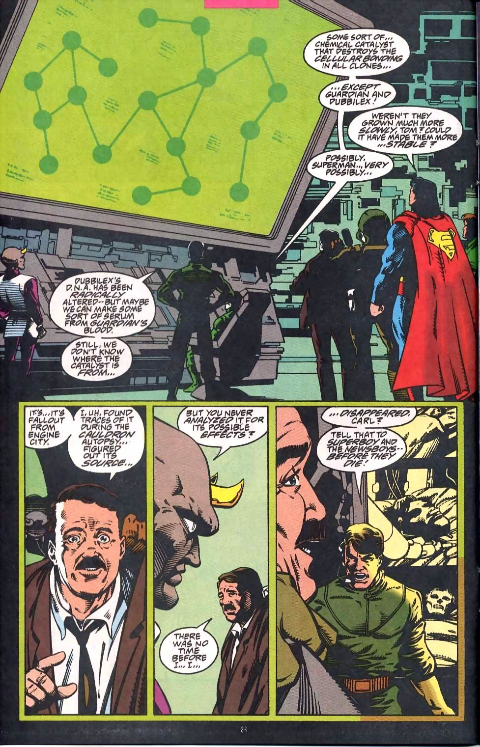 Read online Adventures of Superman (1987) comic -  Issue #513 - 9