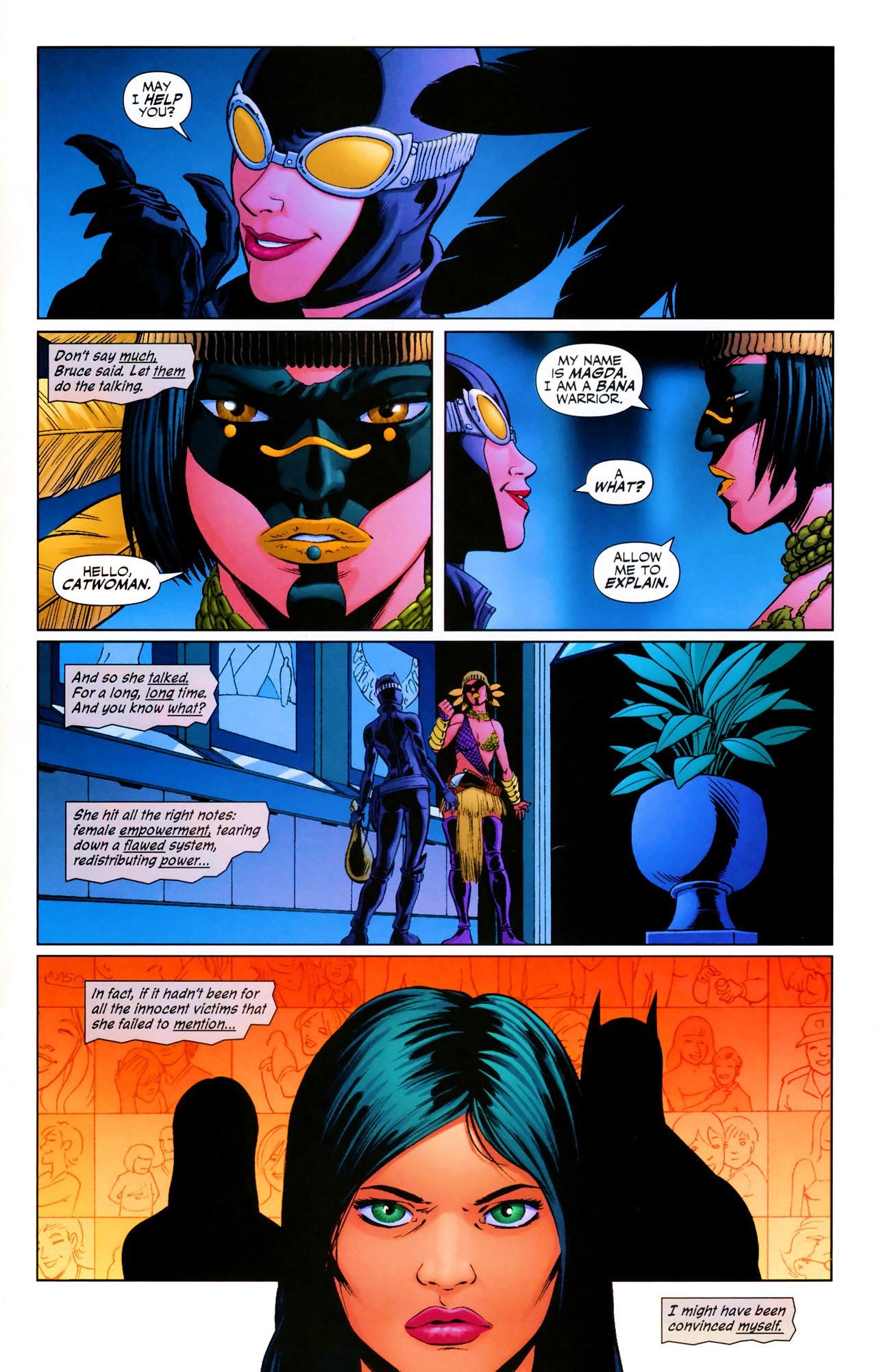 Read online Catwoman (2002) comic -  Issue #69 - 15