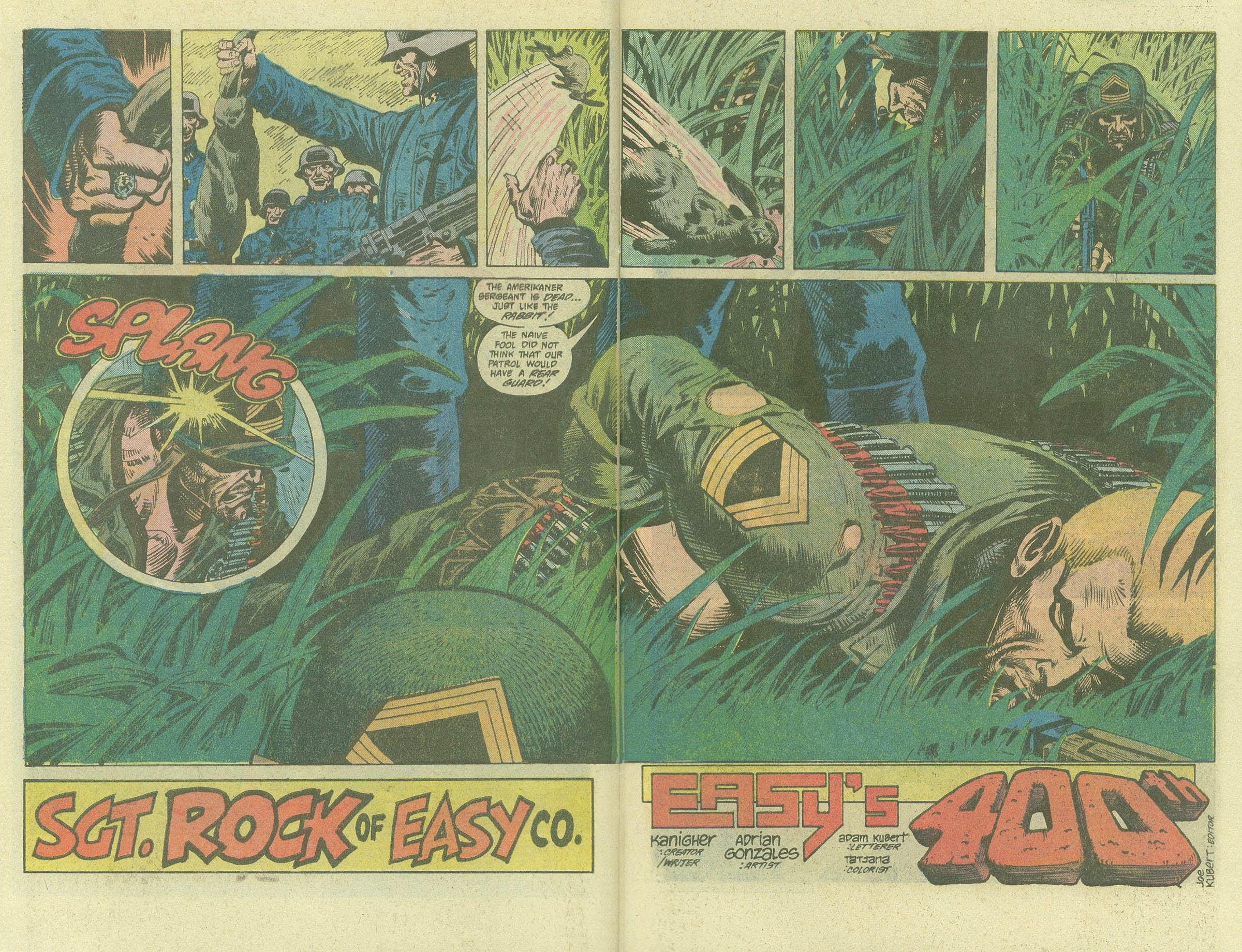 Read online Sgt. Rock comic -  Issue #400 - 4