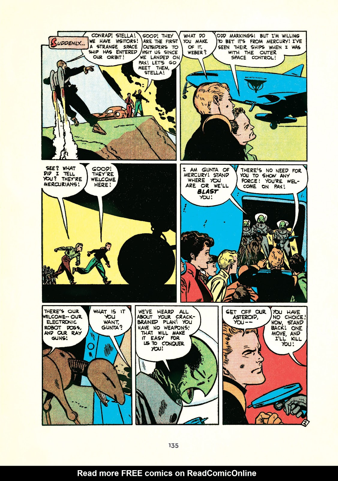 Read online Setting the Standard: Comics by Alex Toth 1952-1954 comic -  Issue # TPB (Part 2) - 36