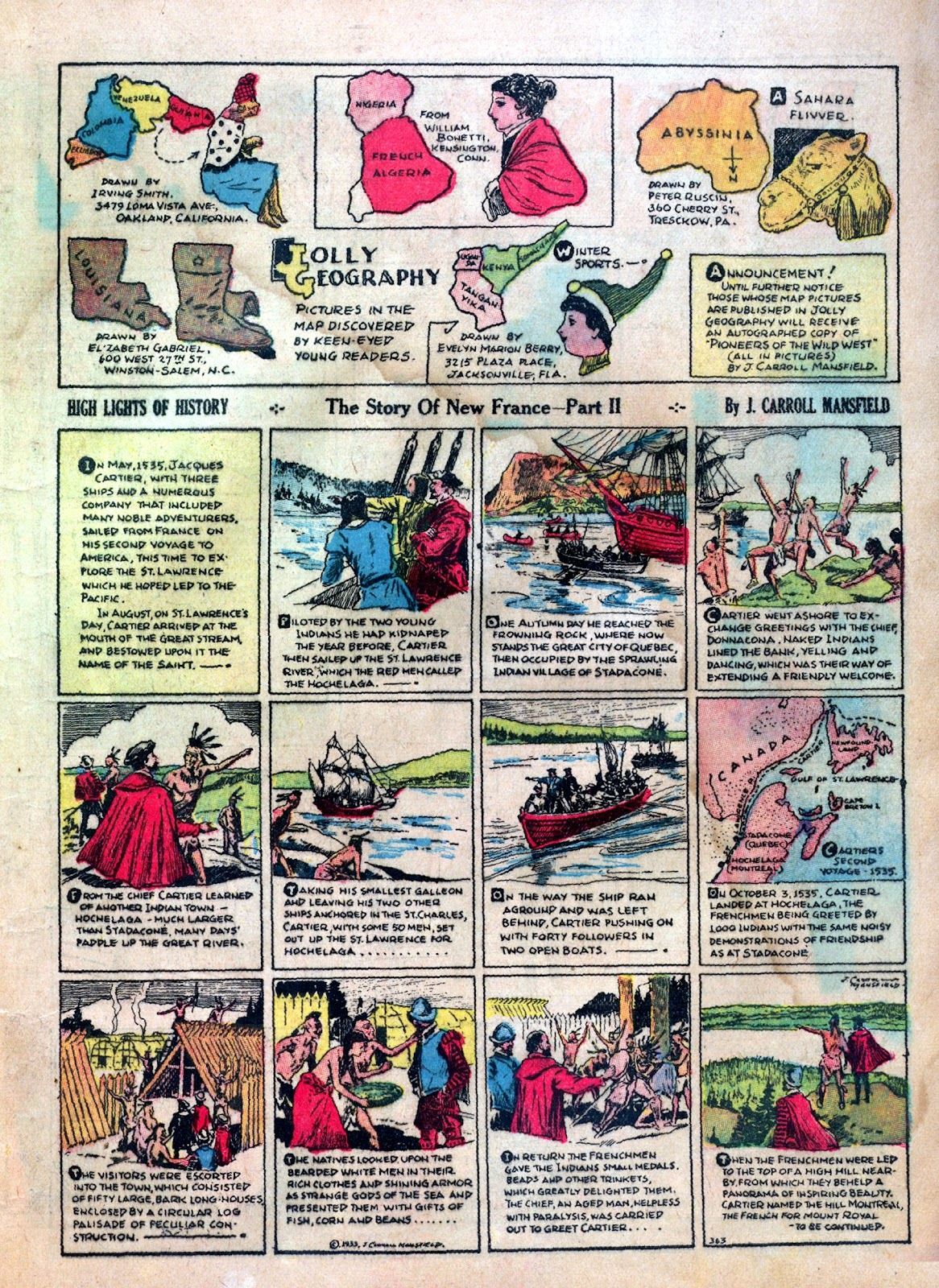 Read online Famous Funnies comic -  Issue #1 - 15