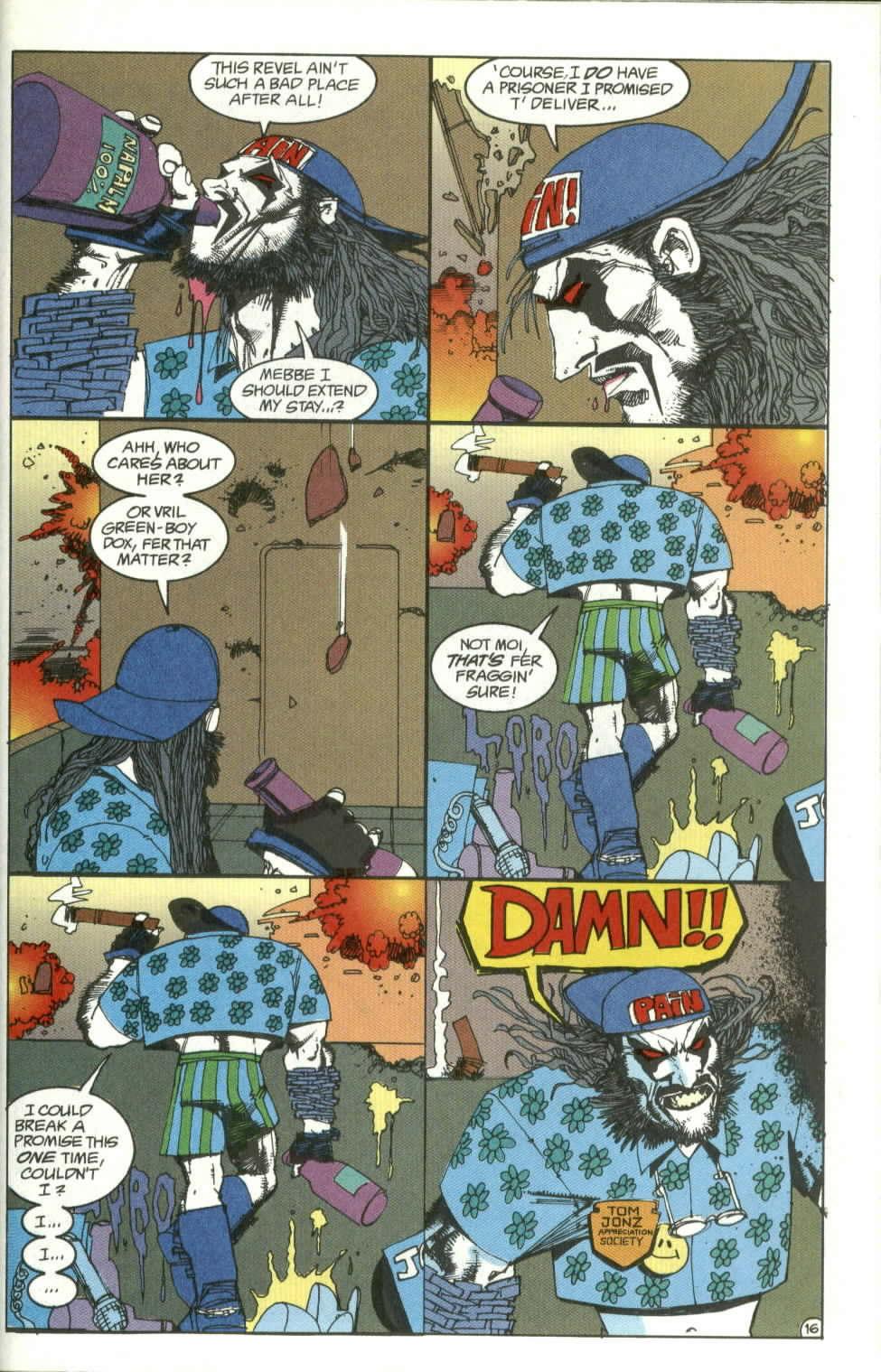 Read online Lobo (1990) comic -  Issue #4 - 16